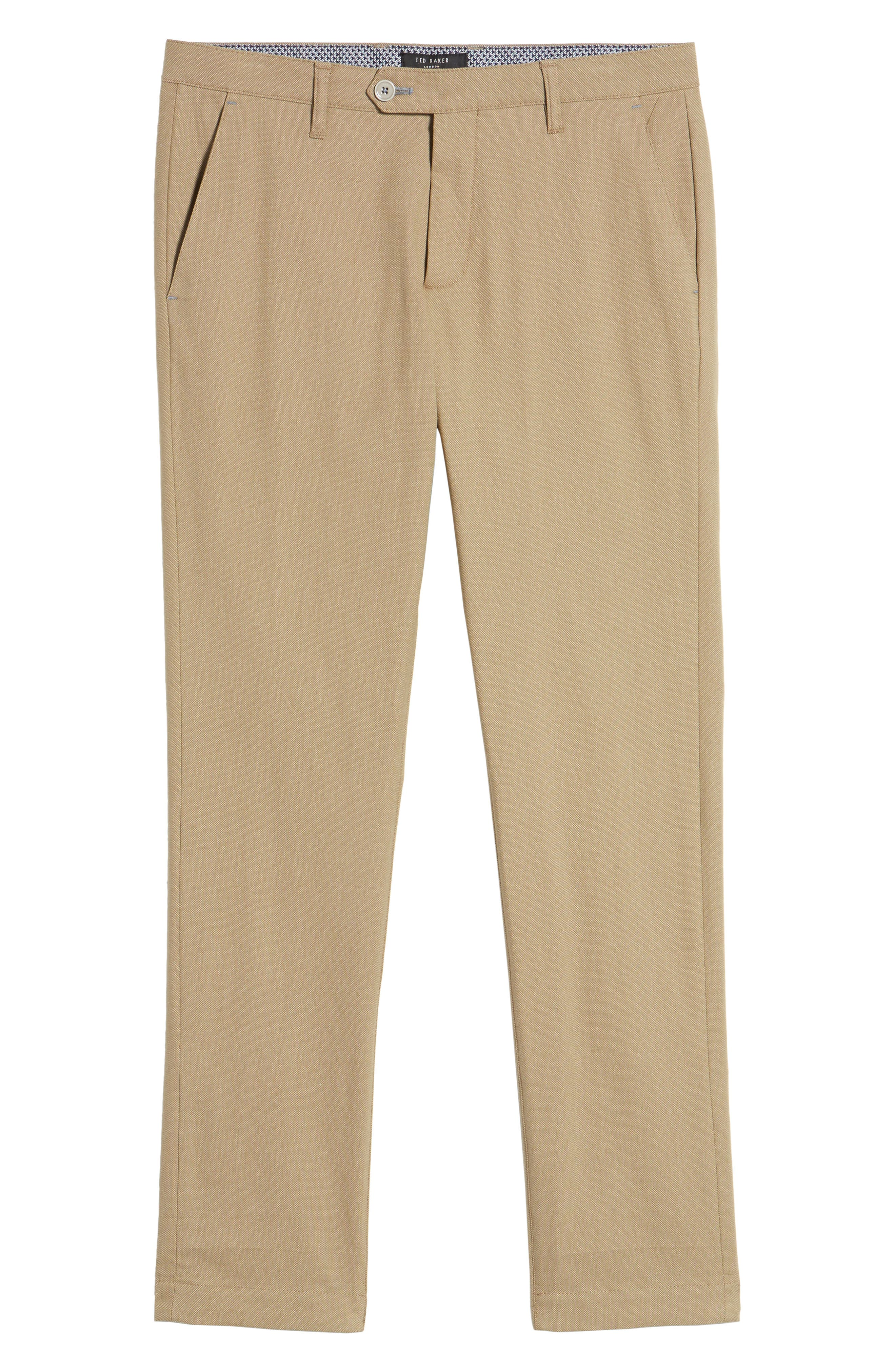 Alternate Image 6  - Ted Baker London Holclas Classic Fit Chino Pants