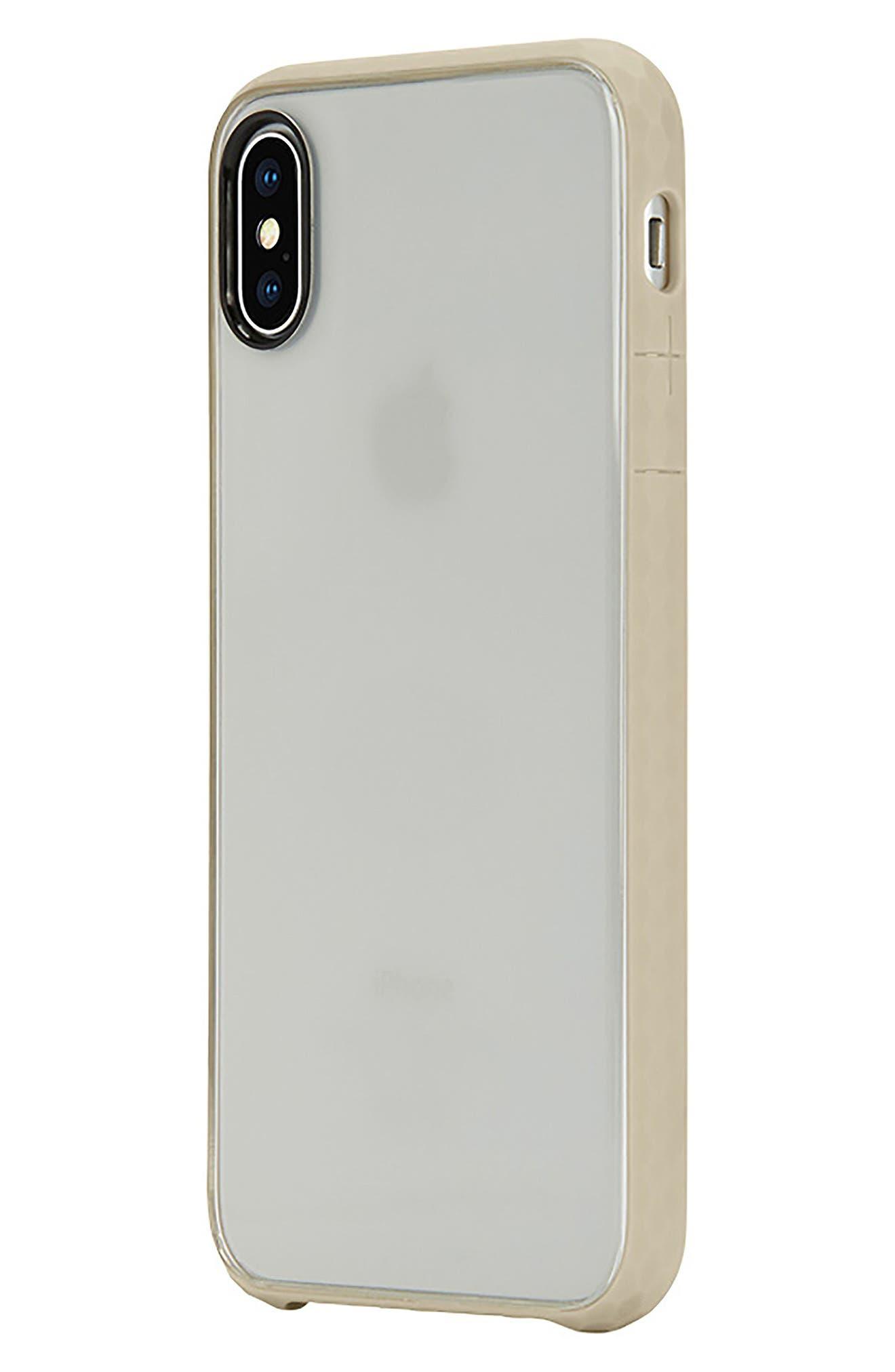Pop iPhone X Case,                             Alternate thumbnail 3, color,                             Gold