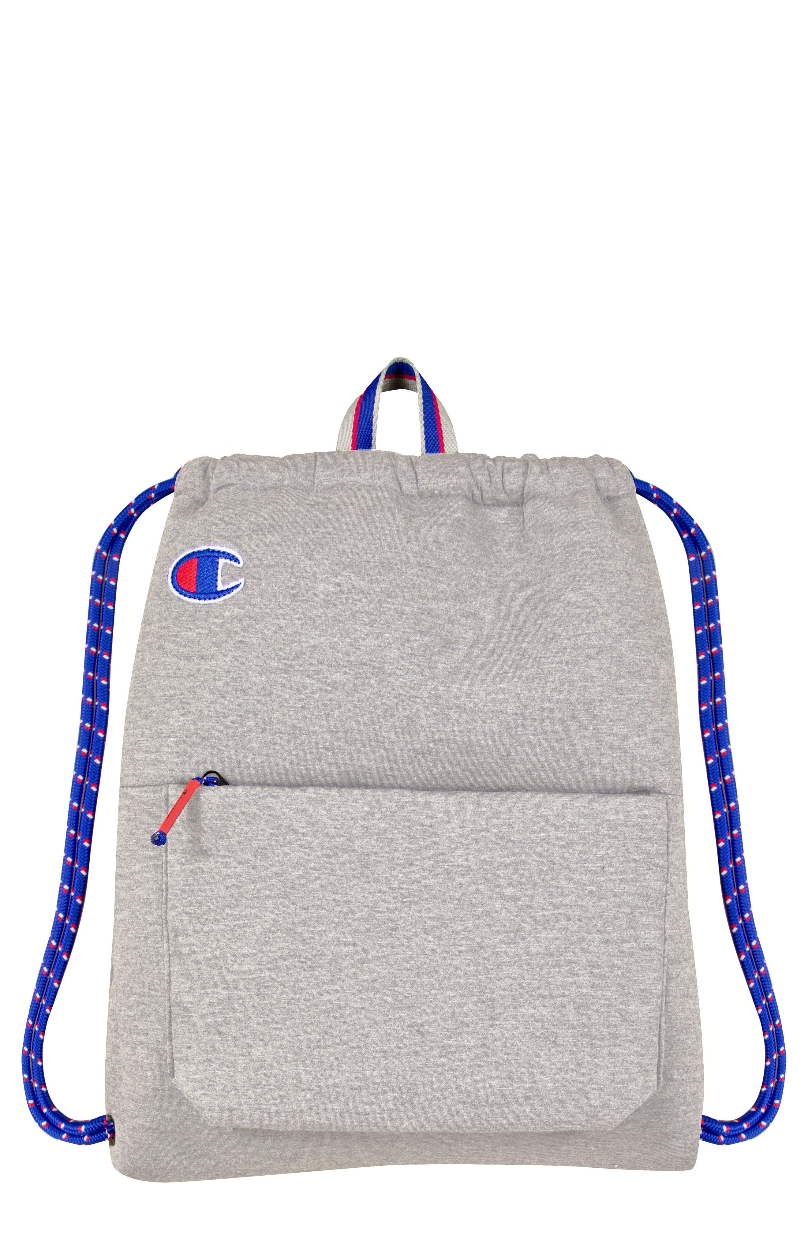 ATTRIBUTE CINCH SACK - GREY