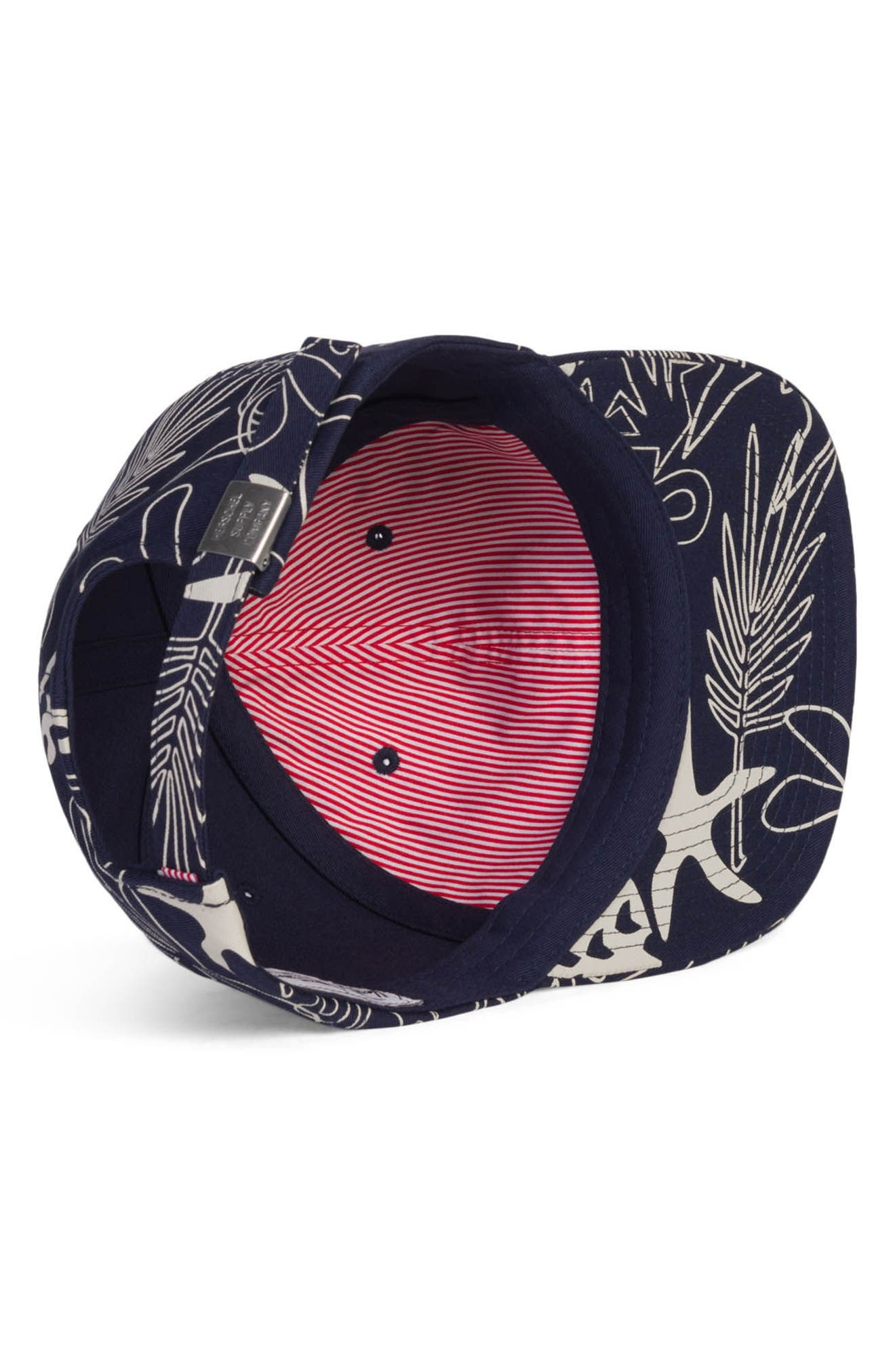Albert Baseball Cap,                             Alternate thumbnail 3, color,                             Abstract Island
