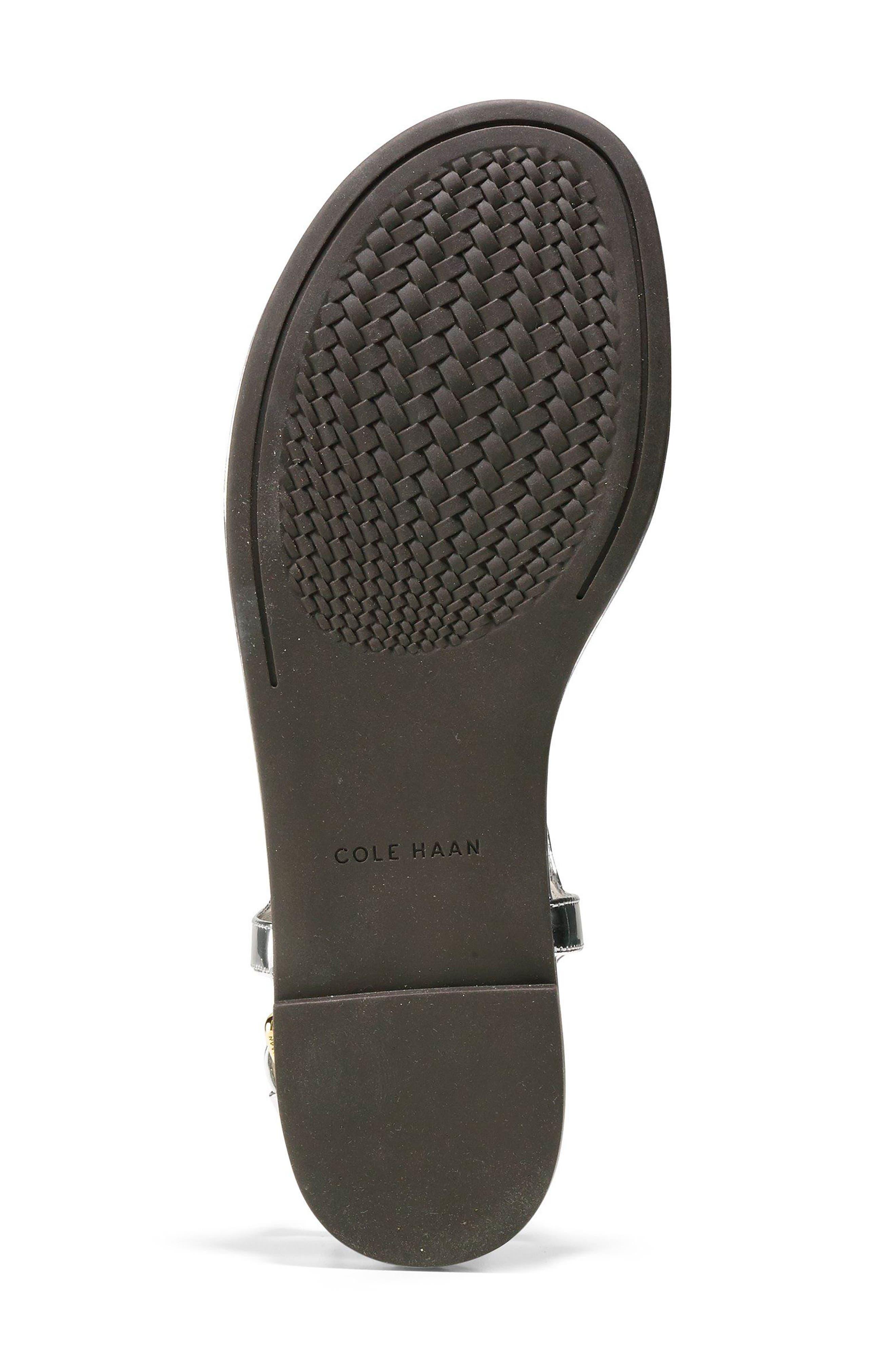Tali Bow Sandal,                             Alternate thumbnail 6, color,                             Silver Leather