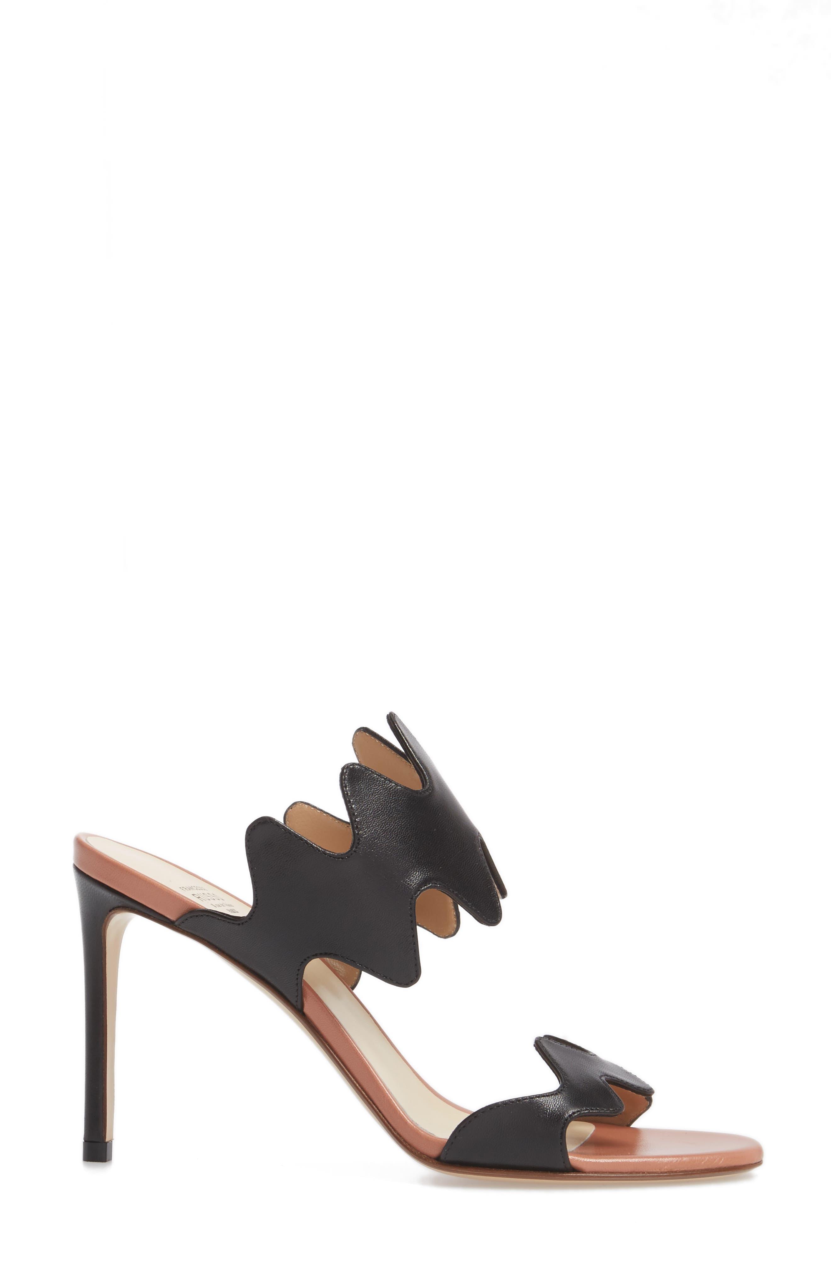 Alternate Image 3  - Francesco Russo Zigzag Sandal (Women)