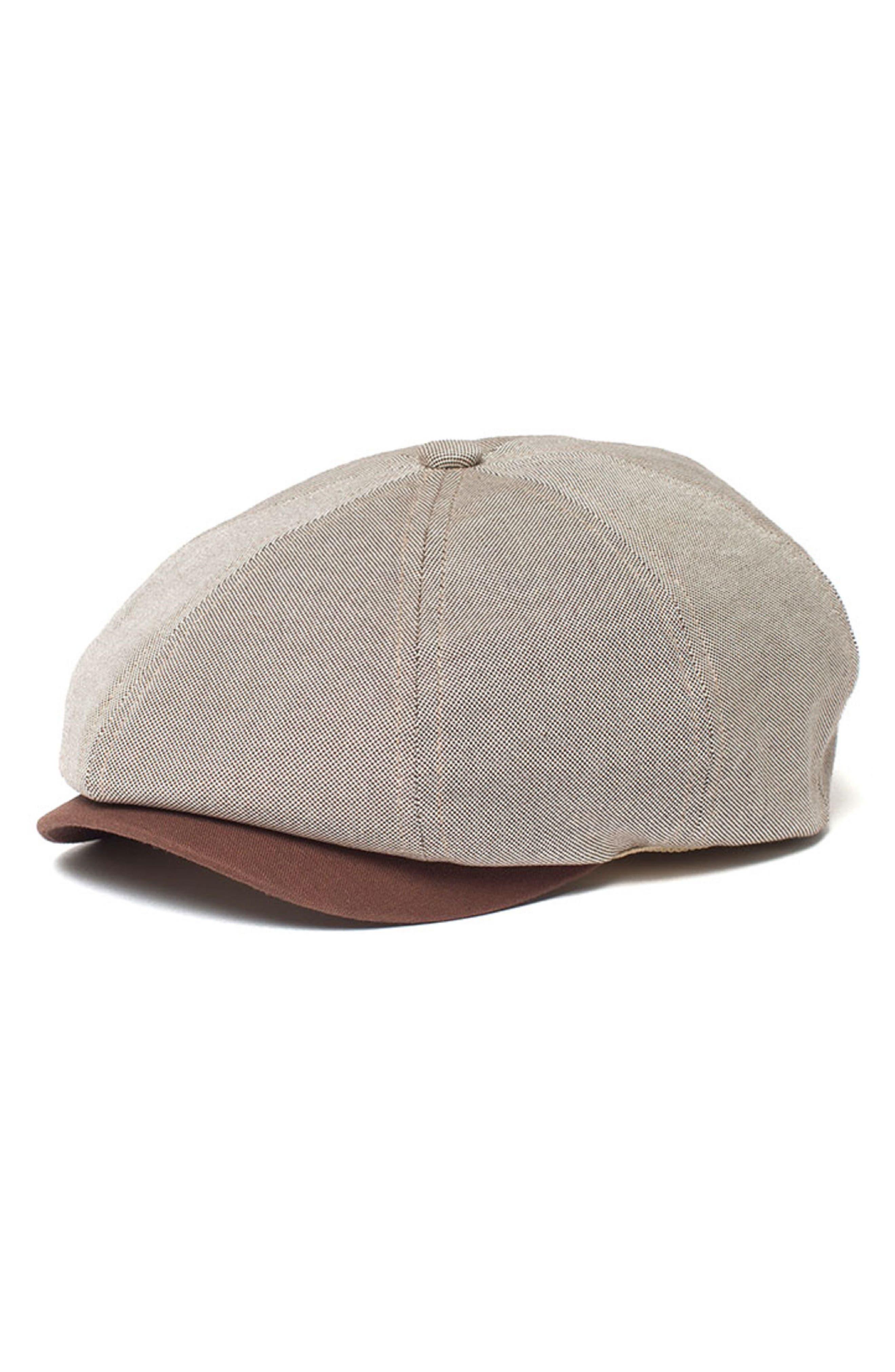 Dapper Sr. Driving Cap,                         Main,                         color, Brown