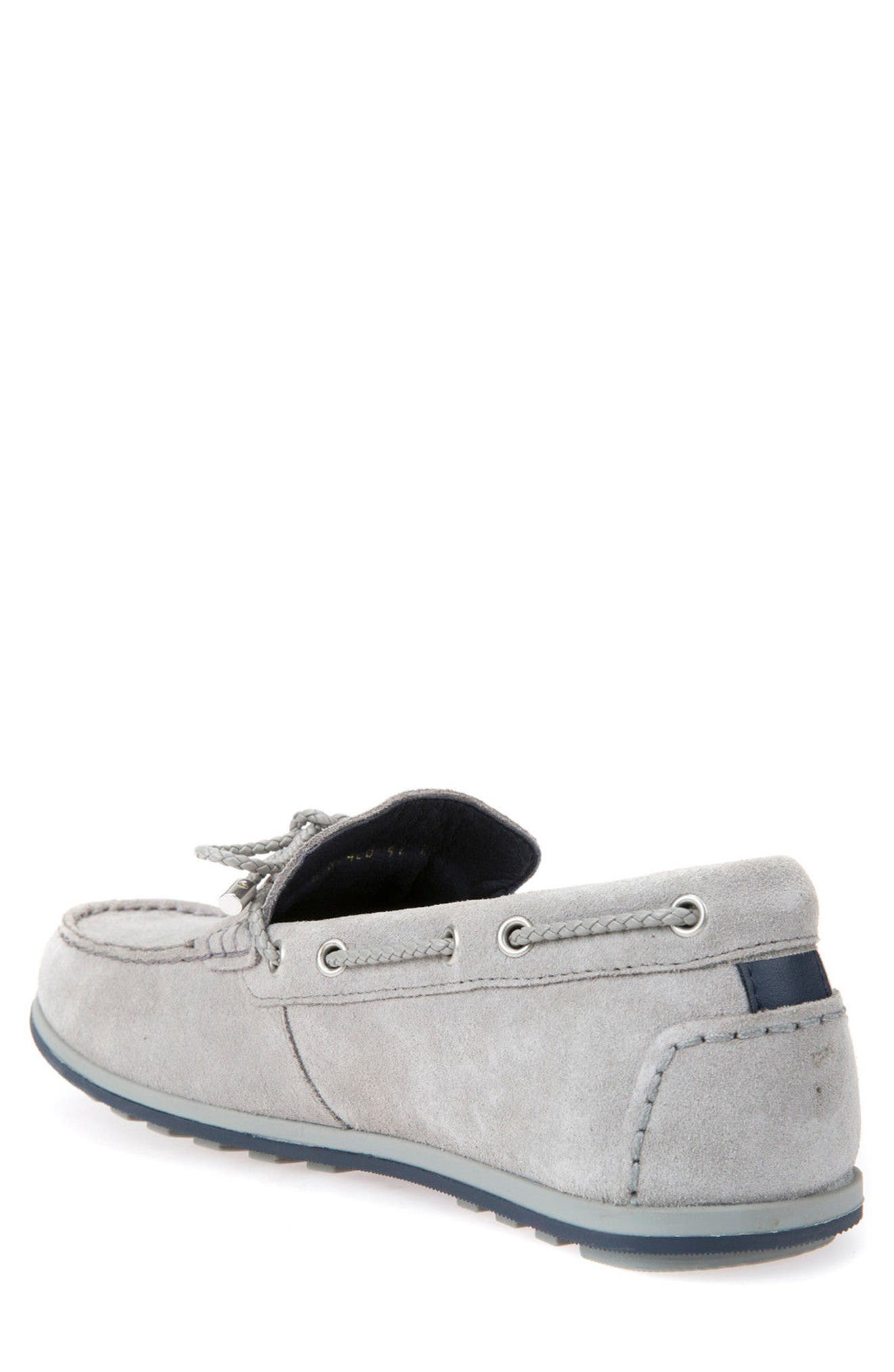 Mirvin 2 Boat Shoe,                             Alternate thumbnail 2, color,                             Stone Suede
