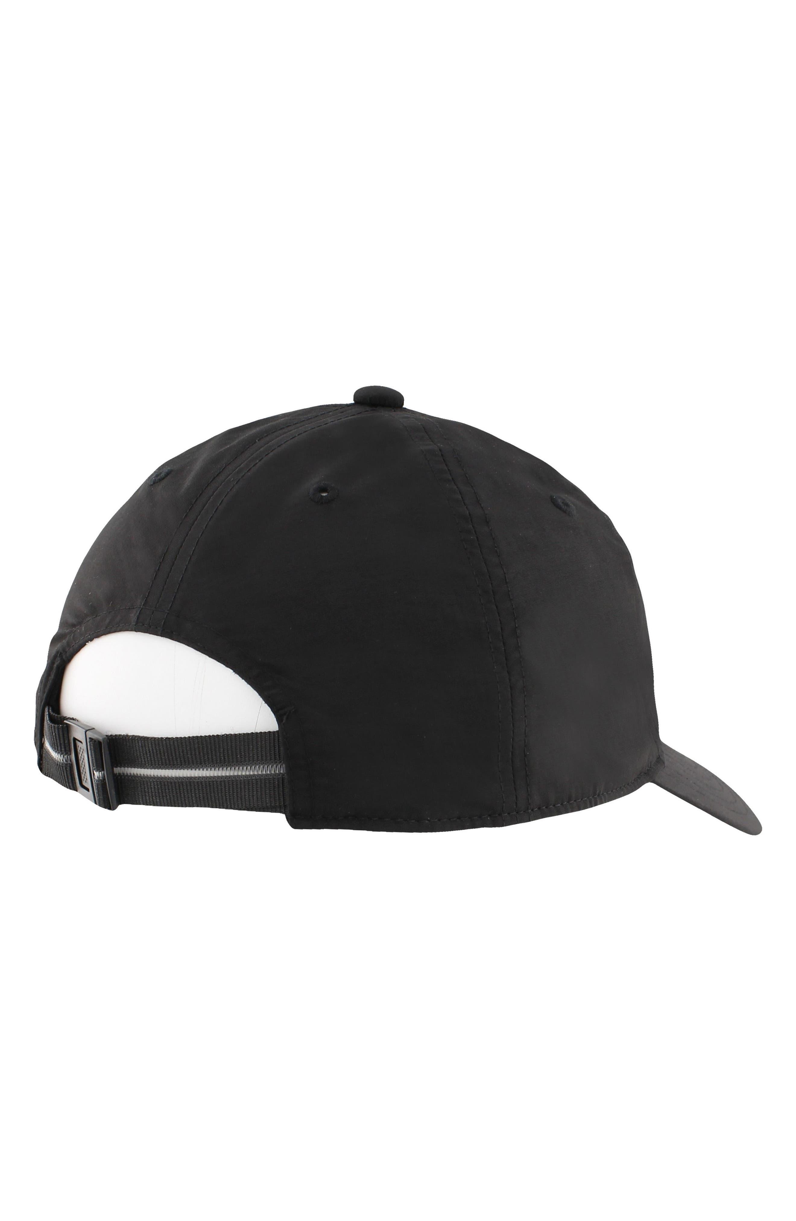 EQT Label Ball Cap,                             Alternate thumbnail 2, color,                             Black/ White