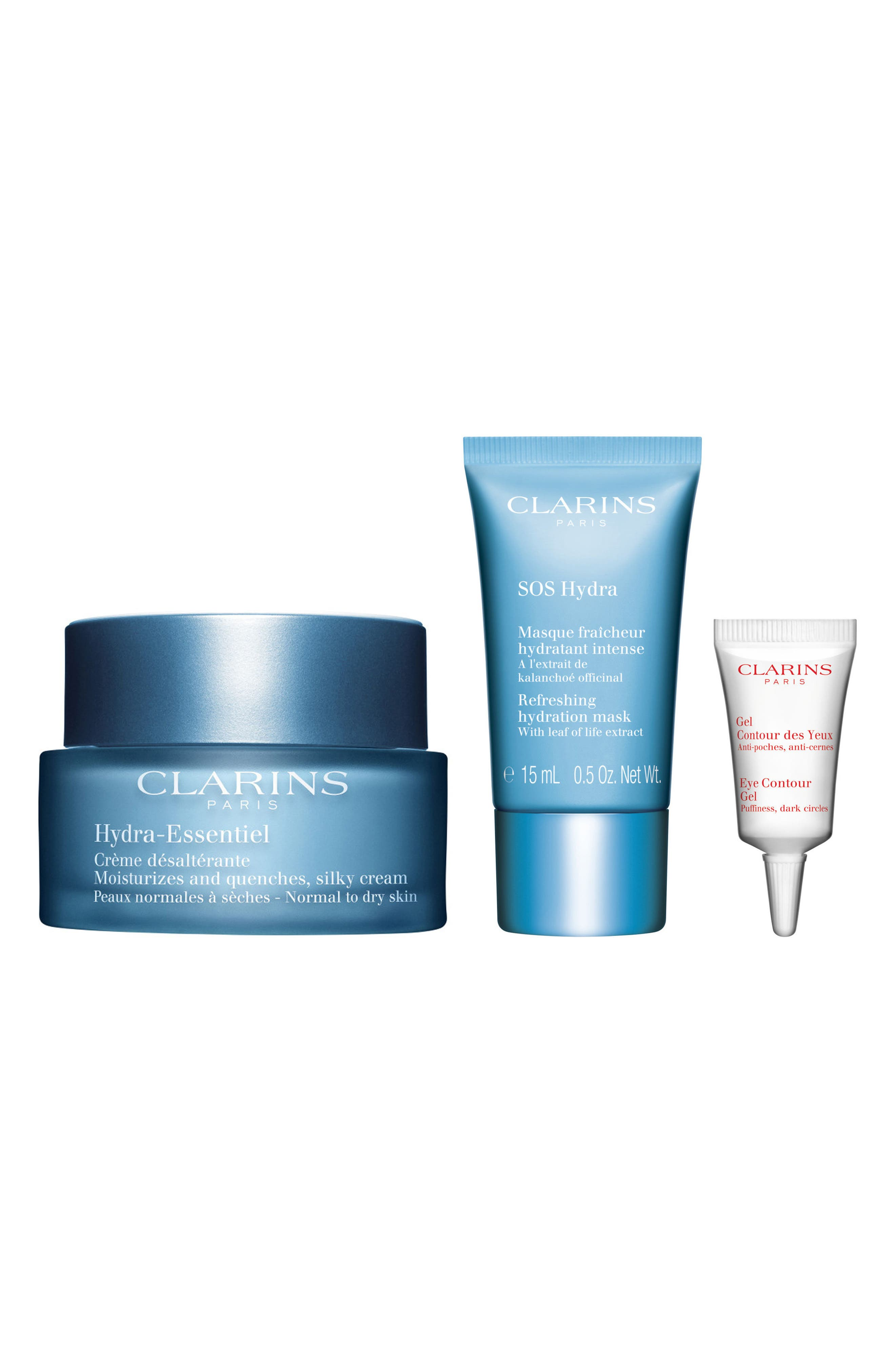 Alternate Image 1 Selected - Clarins Hydra-Essentiel 24/7 Discovery Kit (Limited Edition)