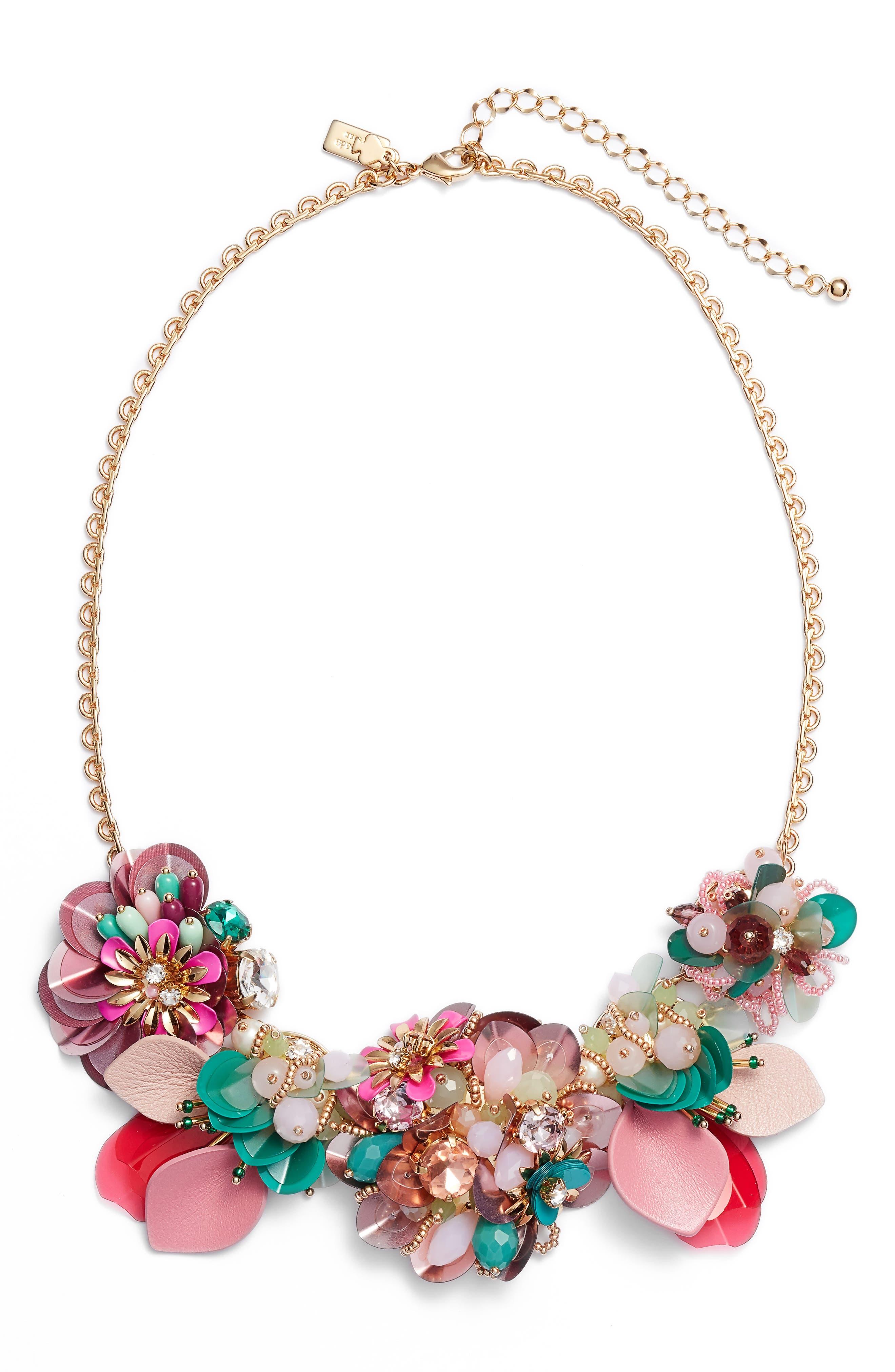kate spade new york vibrant life charm necklace