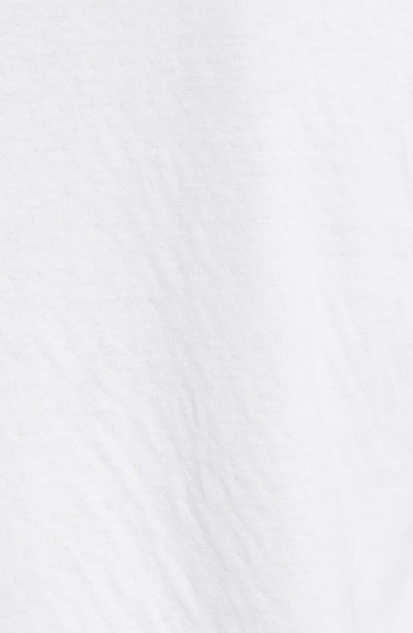 Rigby Baseball T-Shirt,                             Alternate thumbnail 5, color,                             Grey/ White