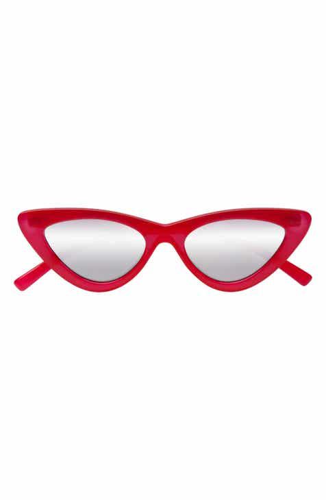 751350f3cf7 Adam Selman x Le Specs Luxe Lolita 49mm Cat Eye Sunglasses
