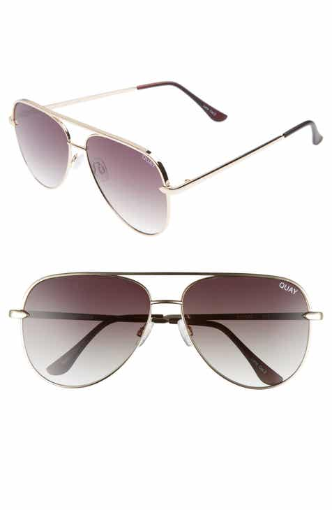 99bed3b045771 Quay Australia x Desi Perkins Sahara 60mm Aviator Sunglasses