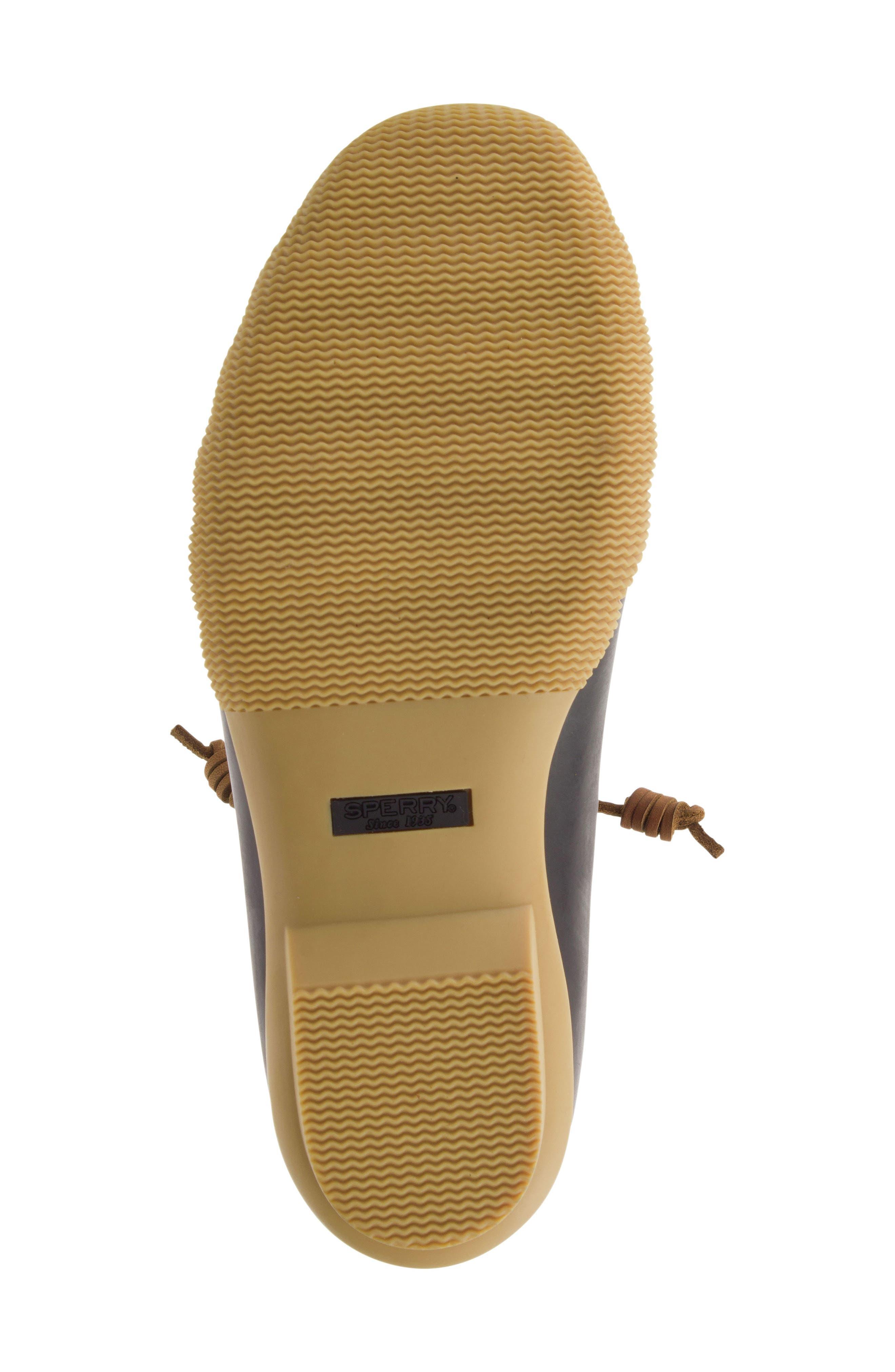 Saltwater Thinsulate<sup>™</sup> Waterproof Rain Boot,                             Alternate thumbnail 5, color,                             Tan/ Brown
