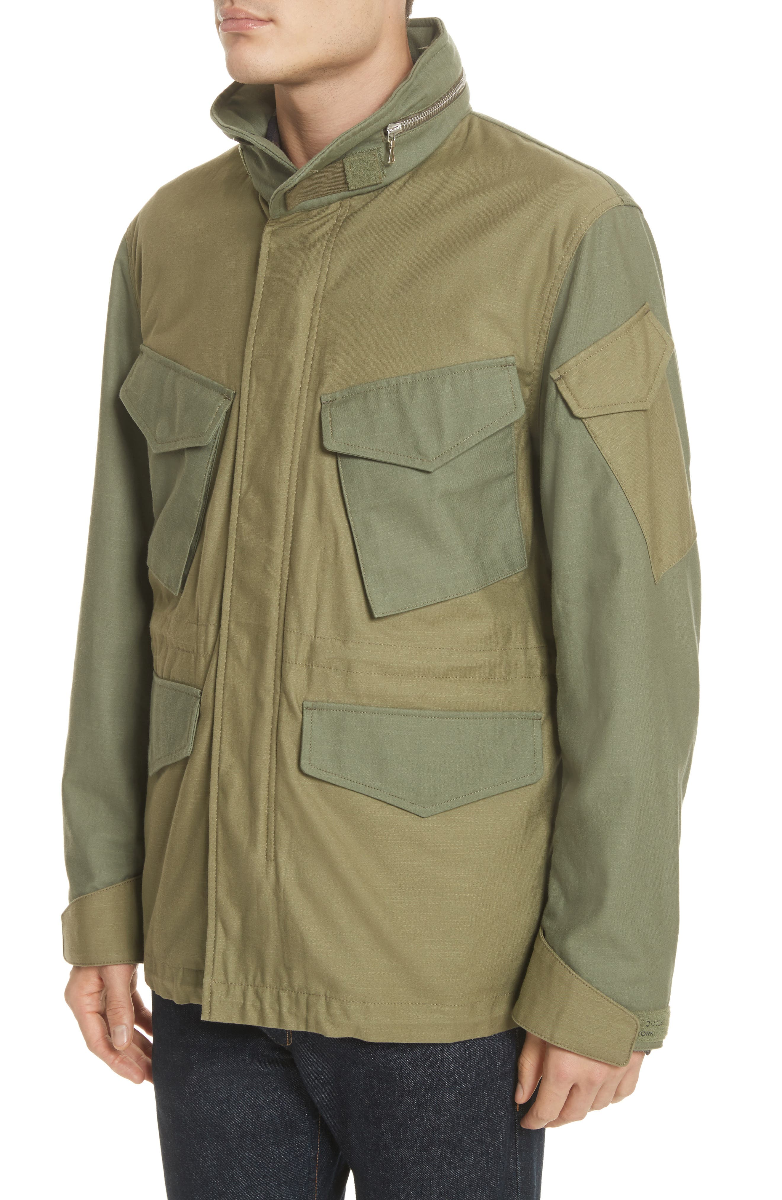 Field Jacket,                             Alternate thumbnail 4, color,                             Olive
