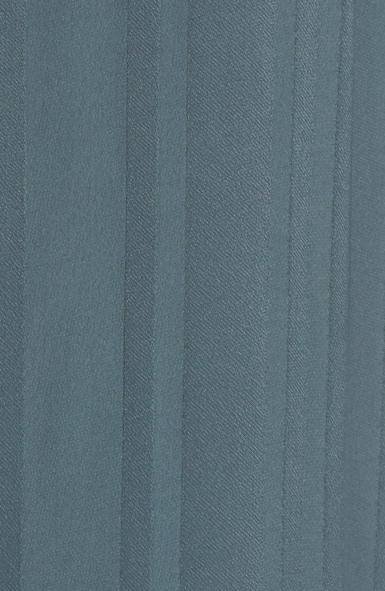 Sienna Crop Lounge Jumpsuit,                             Alternate thumbnail 5, color,                             Sage