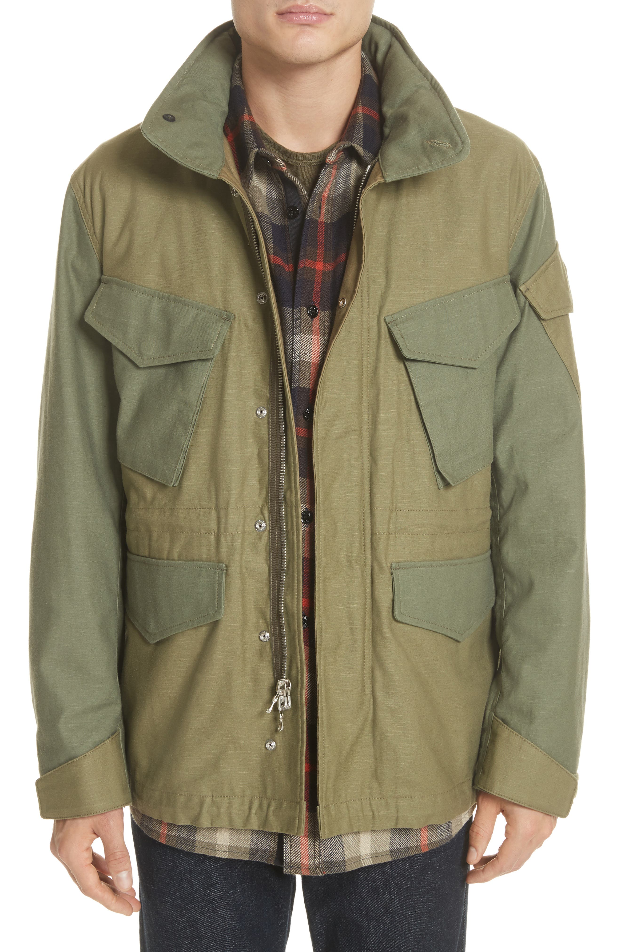 Field Jacket,                         Main,                         color, Olive