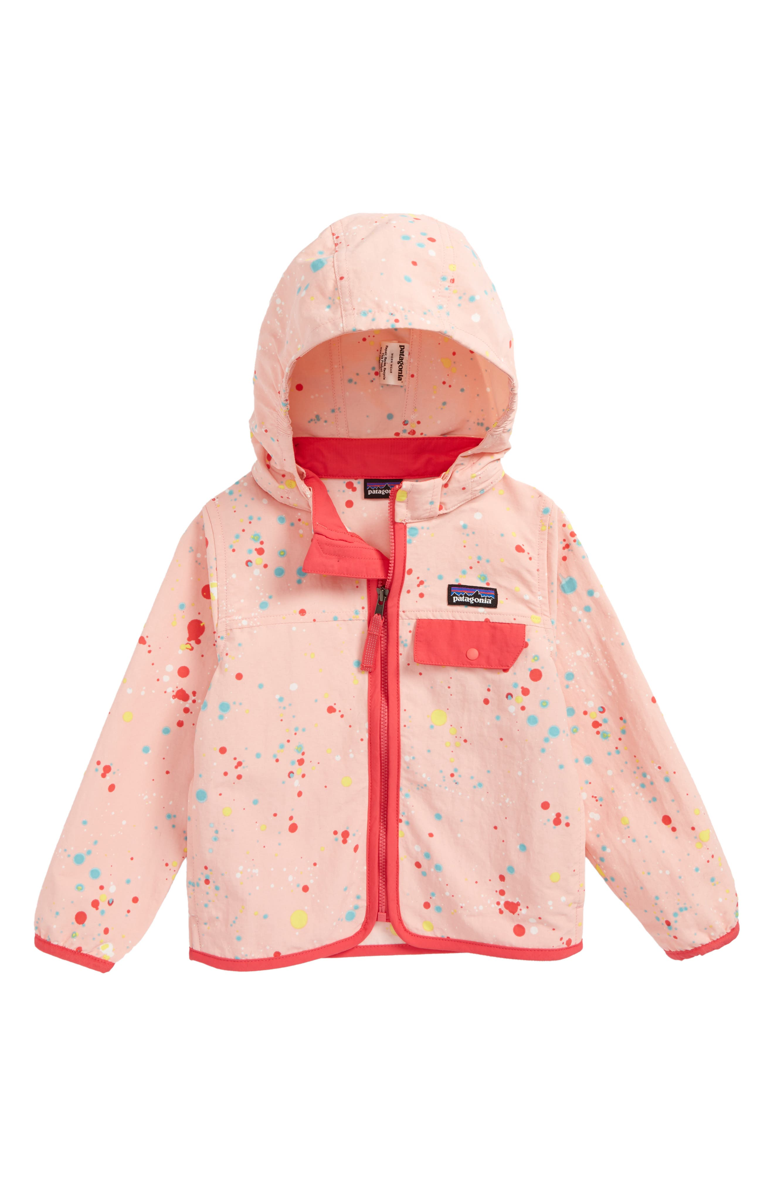 Patagonia Baggies™ Hooded Jacket (Toddler Girls)