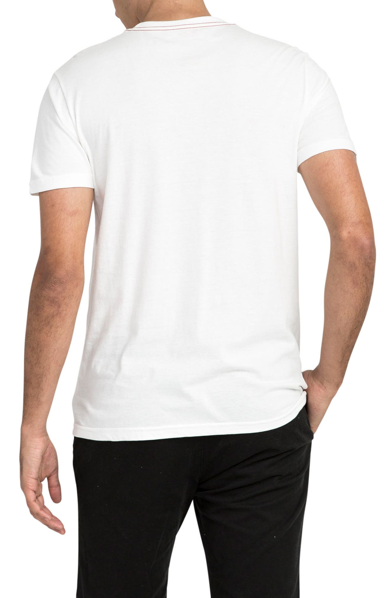 Scribe Logo T-Shirt,                             Alternate thumbnail 2, color,                             Antique White