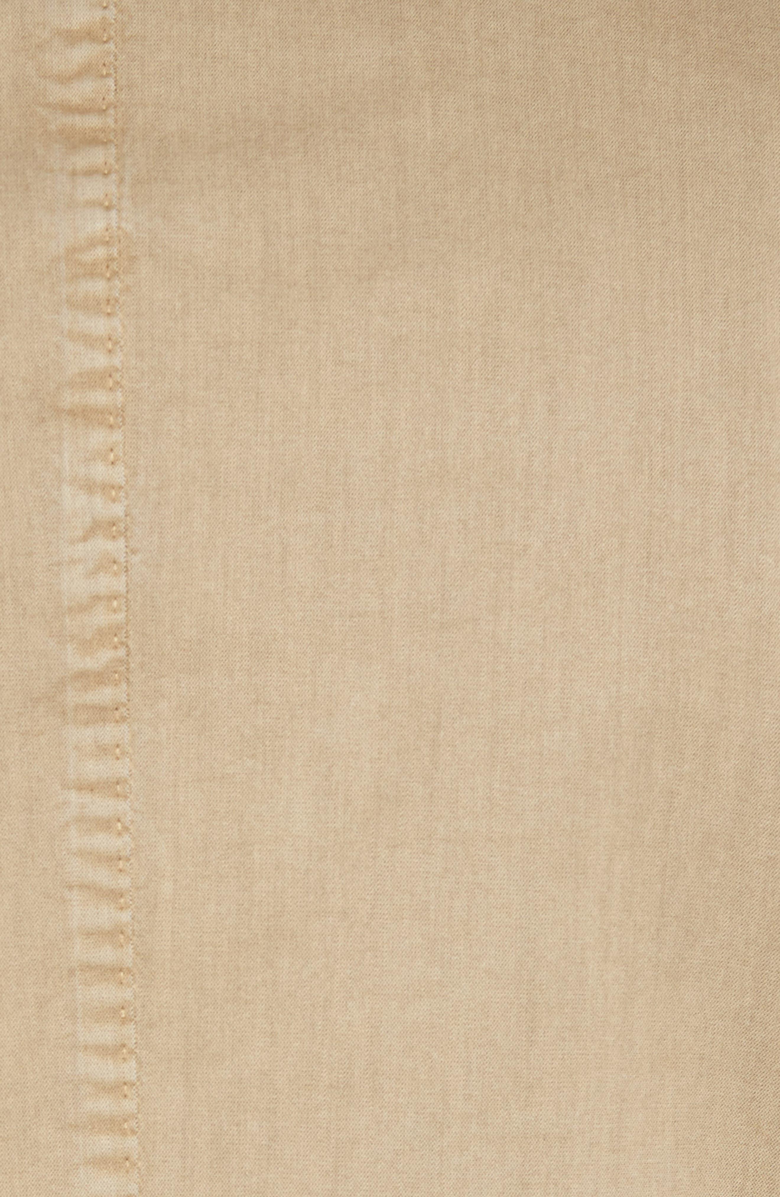 Classic Fit Cotton & Silk Blazer,                             Alternate thumbnail 5, color,                             Beige/ Khaki