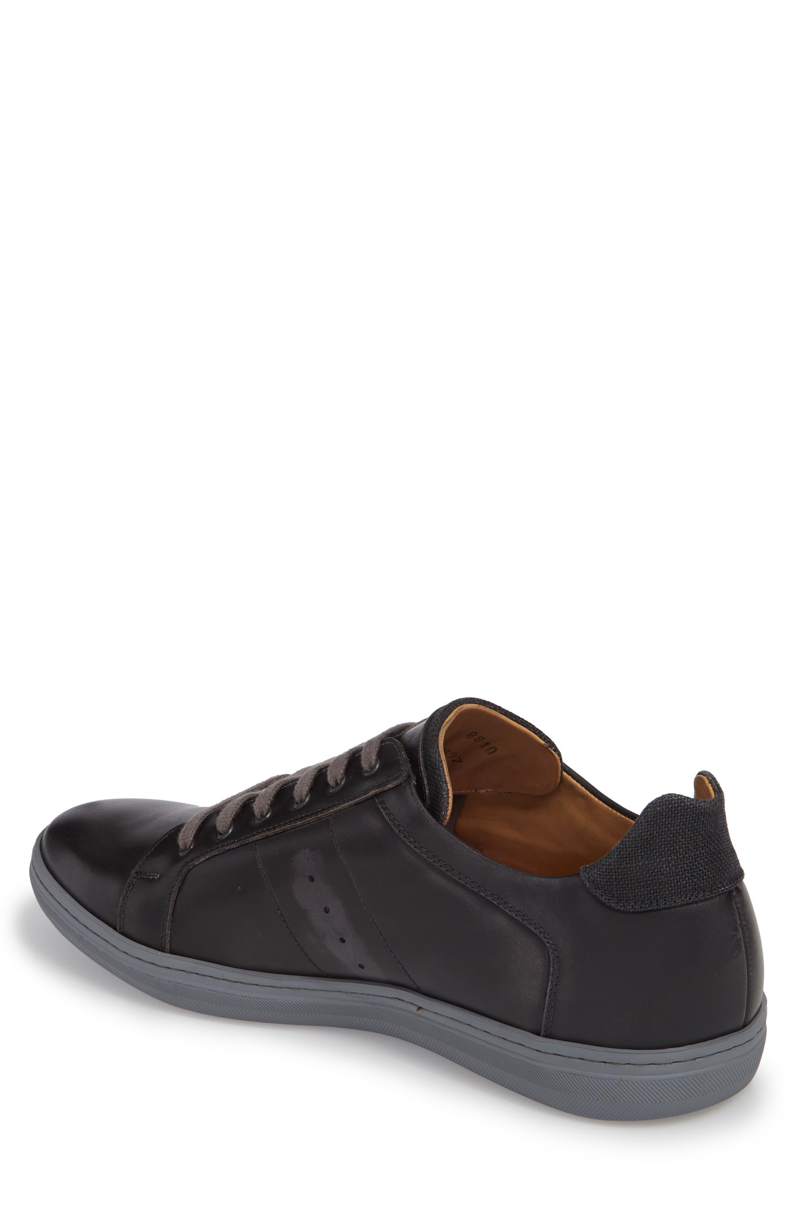 Cuzco Sneaker,                             Alternate thumbnail 2, color,                             Graphite/ Black Leather