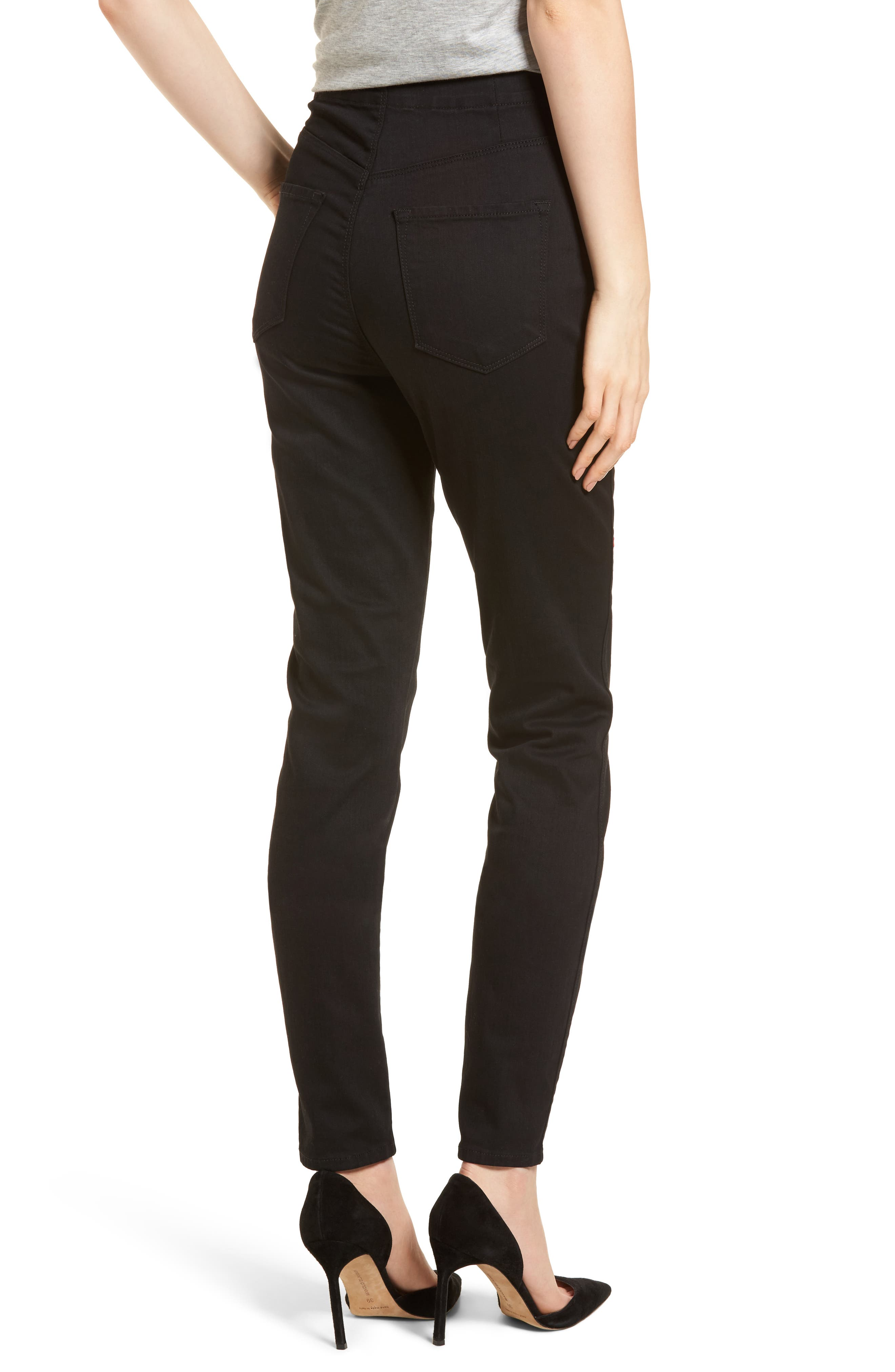 Natasha Photoready High Waist Skinny Jeans,                             Alternate thumbnail 2, color,                             Vanity