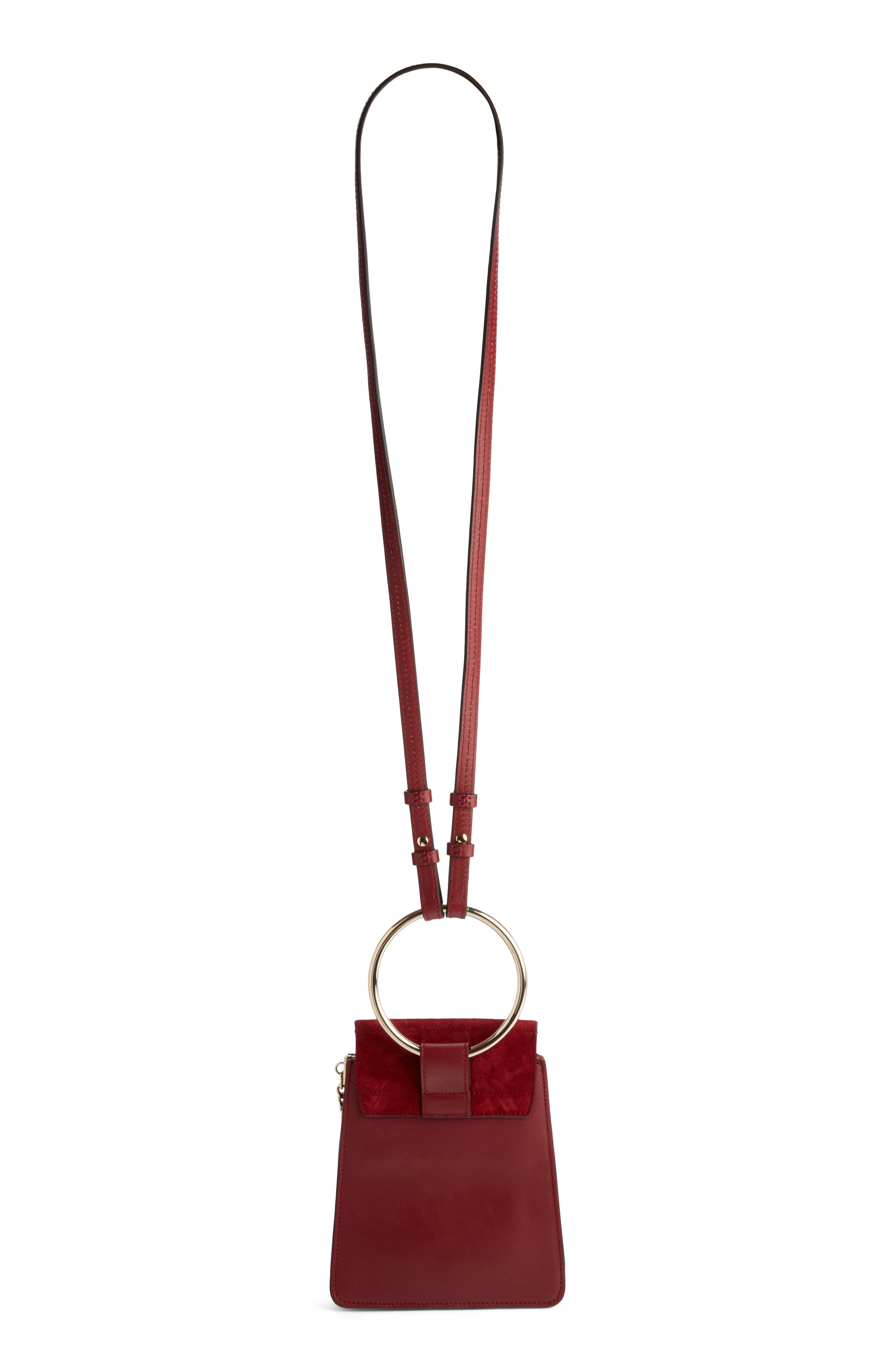 Alternate Image 3  - Chloé Faye Small Suede & Leather Bracelet Bag
