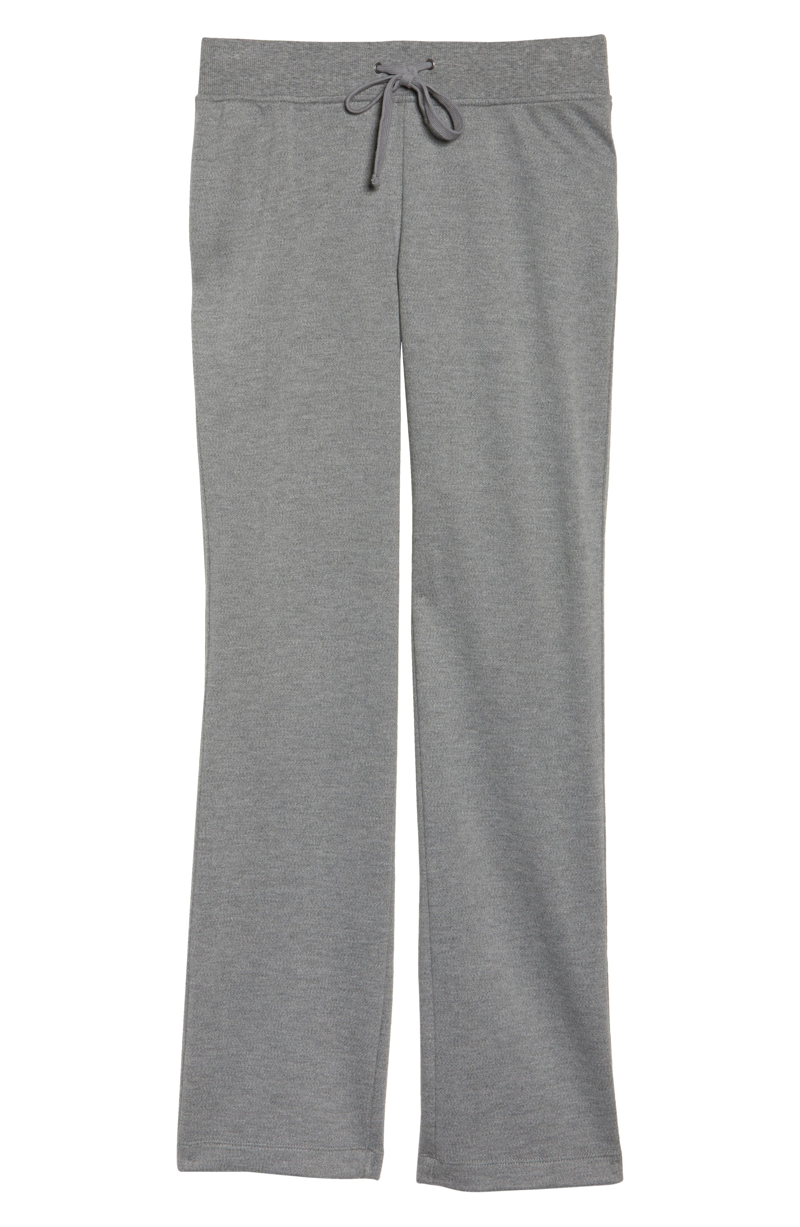Penny Lounge Pants,                             Alternate thumbnail 4, color,                             Grey Heather