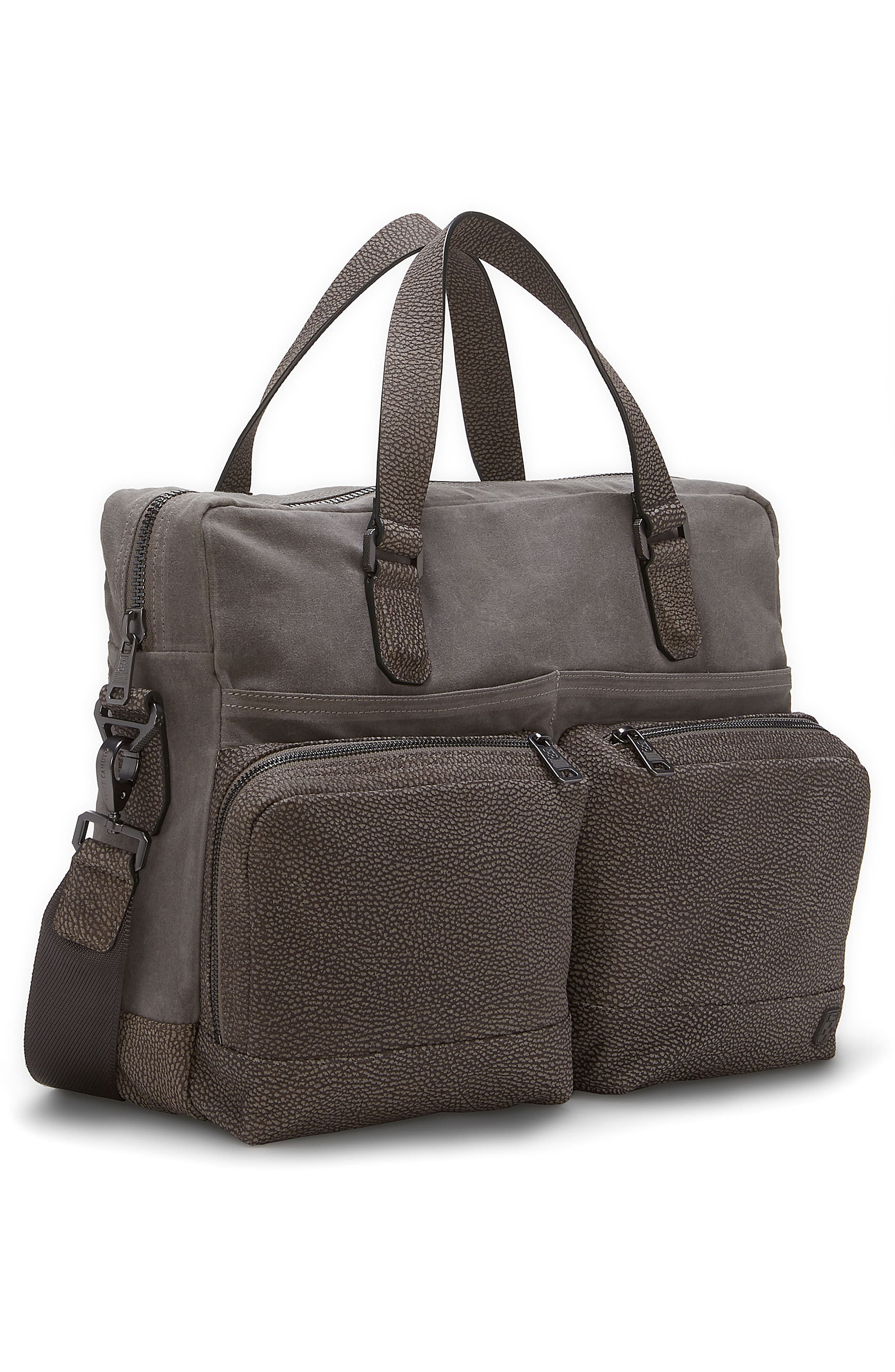 Basin Satchel Briefcase,                             Alternate thumbnail 3, color,                             Steeple Grey