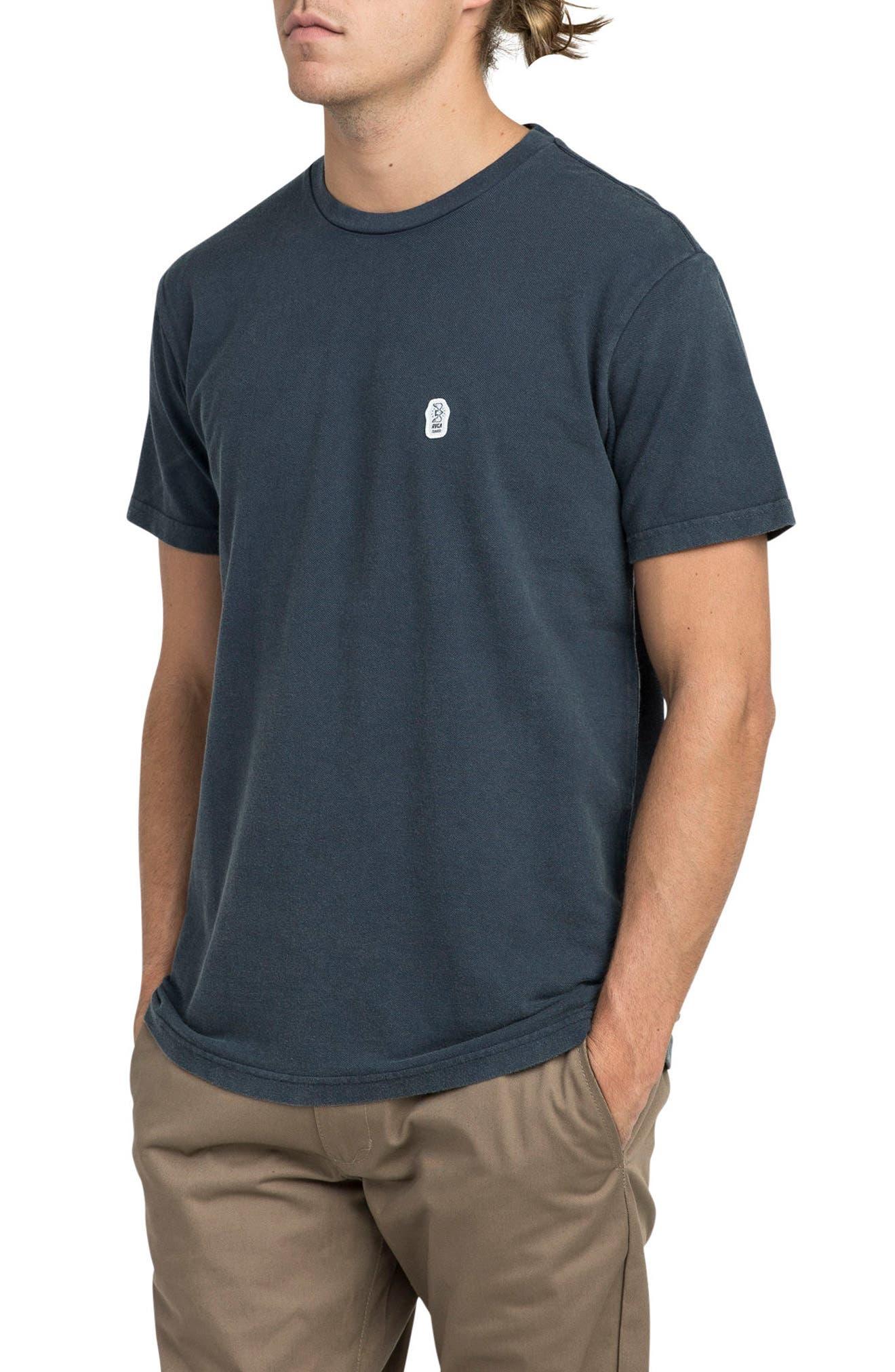 Stress T-Shirt,                         Main,                         color, Classic Indigo
