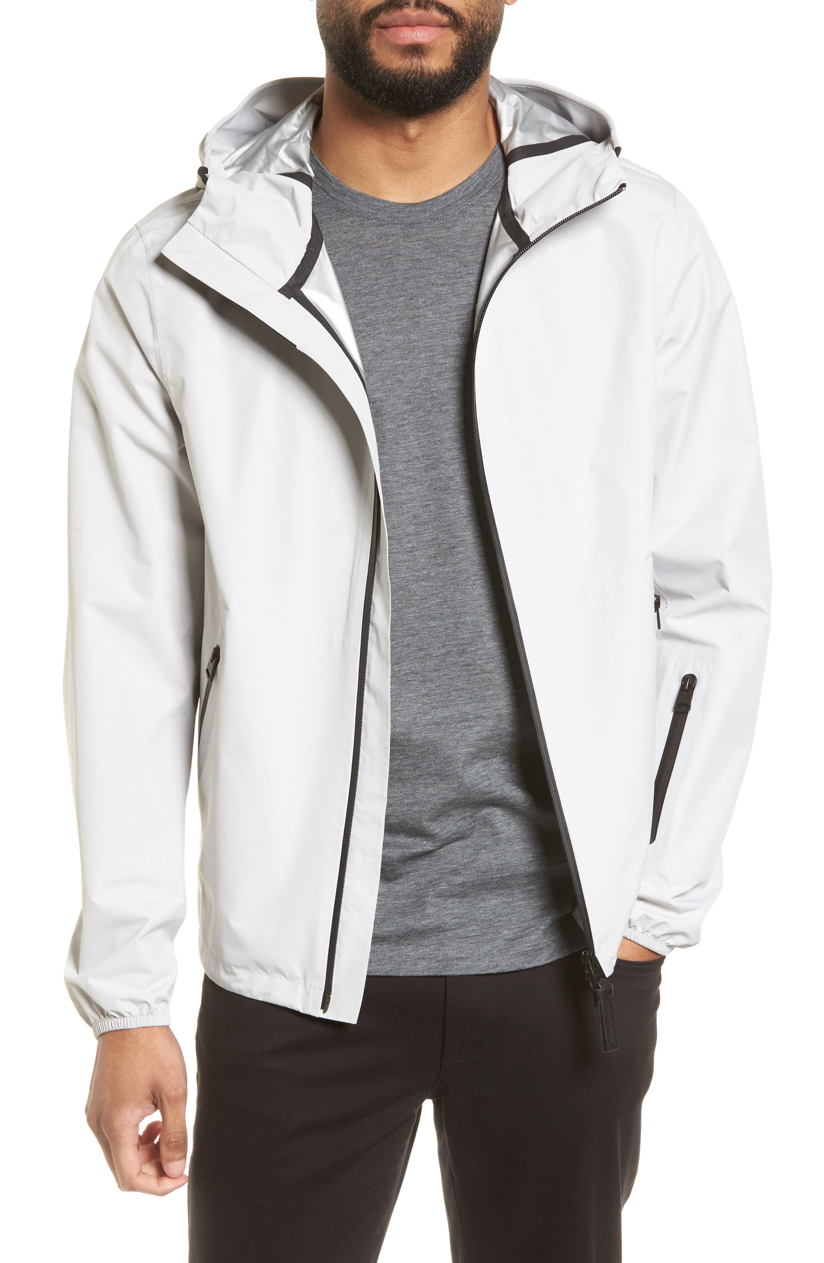 Hooded Jacket,                         Main,                         color, Mineral