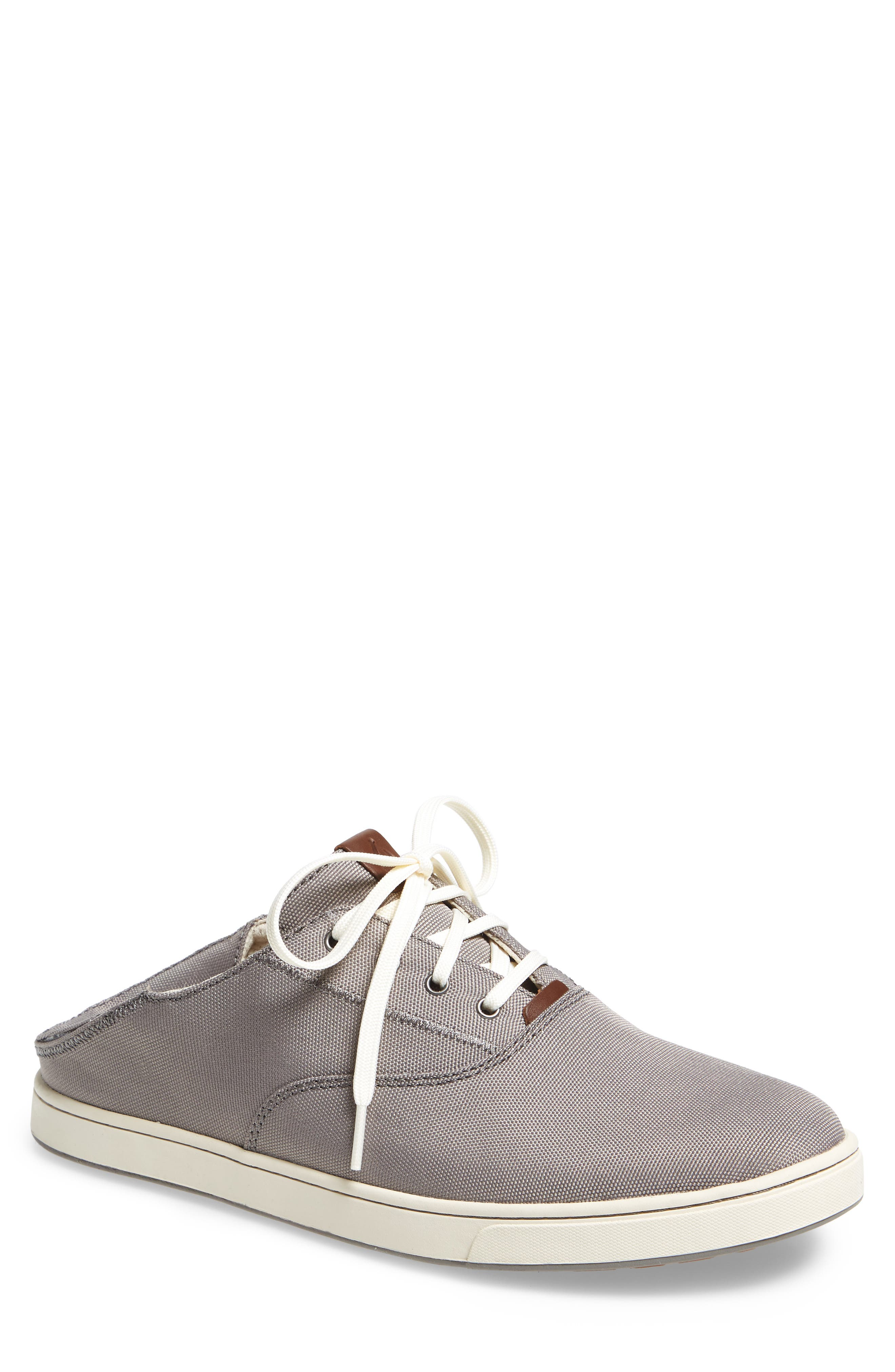 Kahu Collapsible Lace-Up Sneaker,                             Main thumbnail 1, color,                             Fog/ Off White