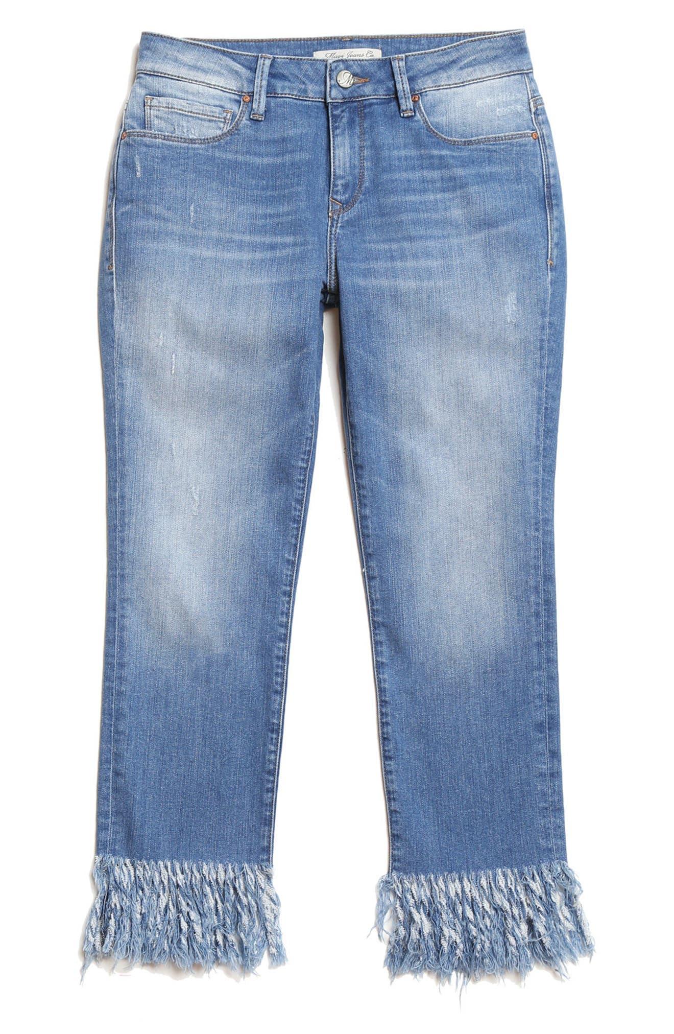 Mavi Jeans KERRY FRINGE HEM ANKLE JEANS