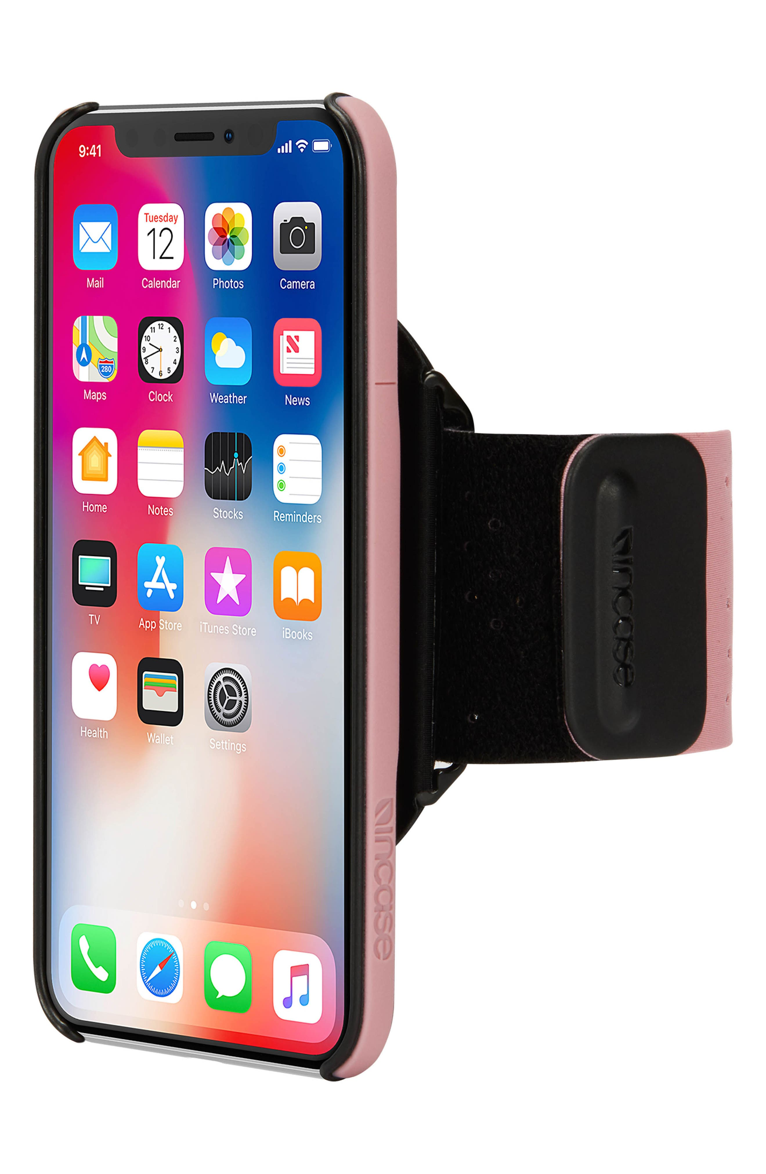 Pro iPhone X Armband,                             Alternate thumbnail 2, color,                             Mauve
