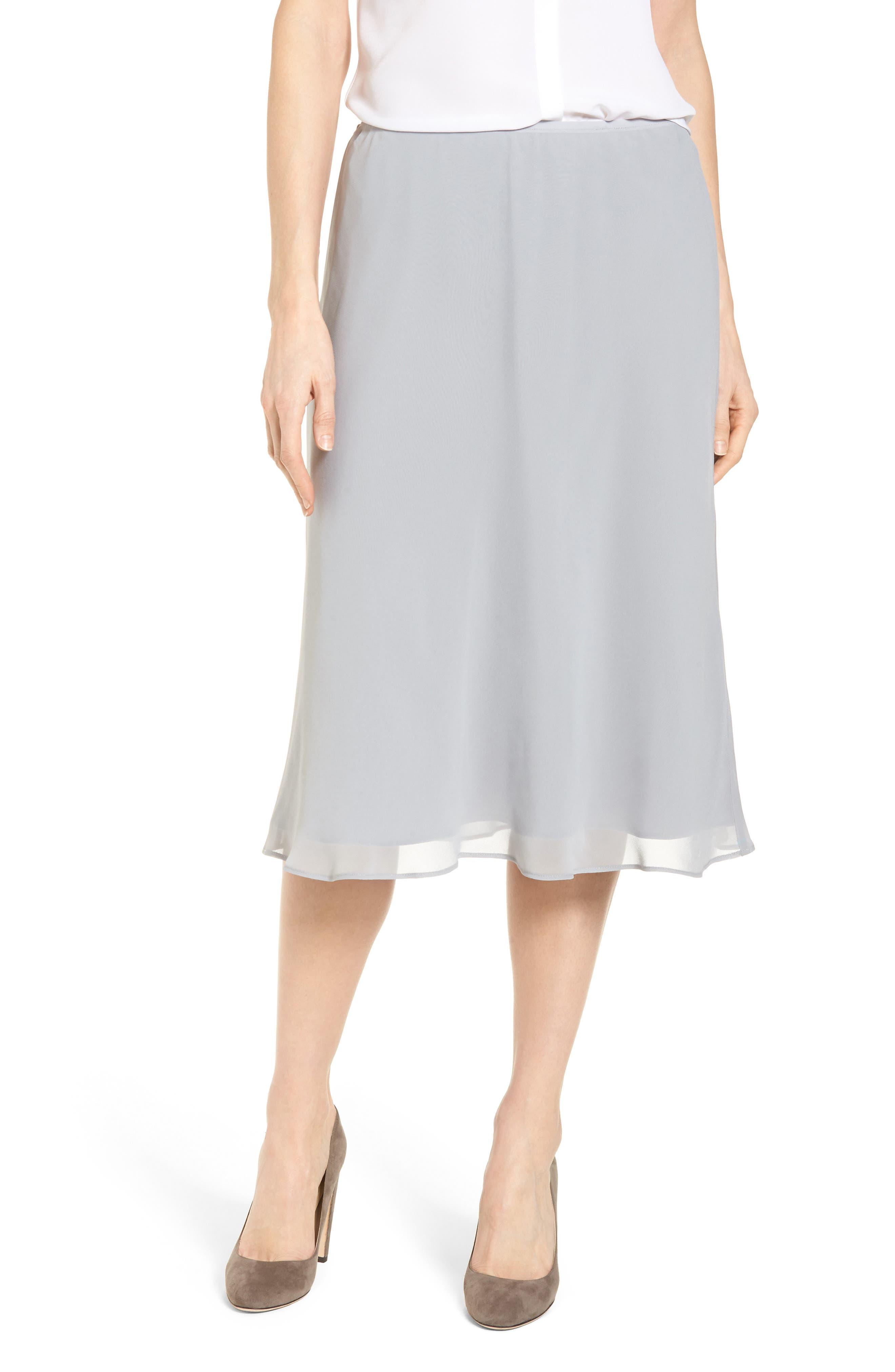 Paired Up Skirt,                         Main,                         color, Zinc