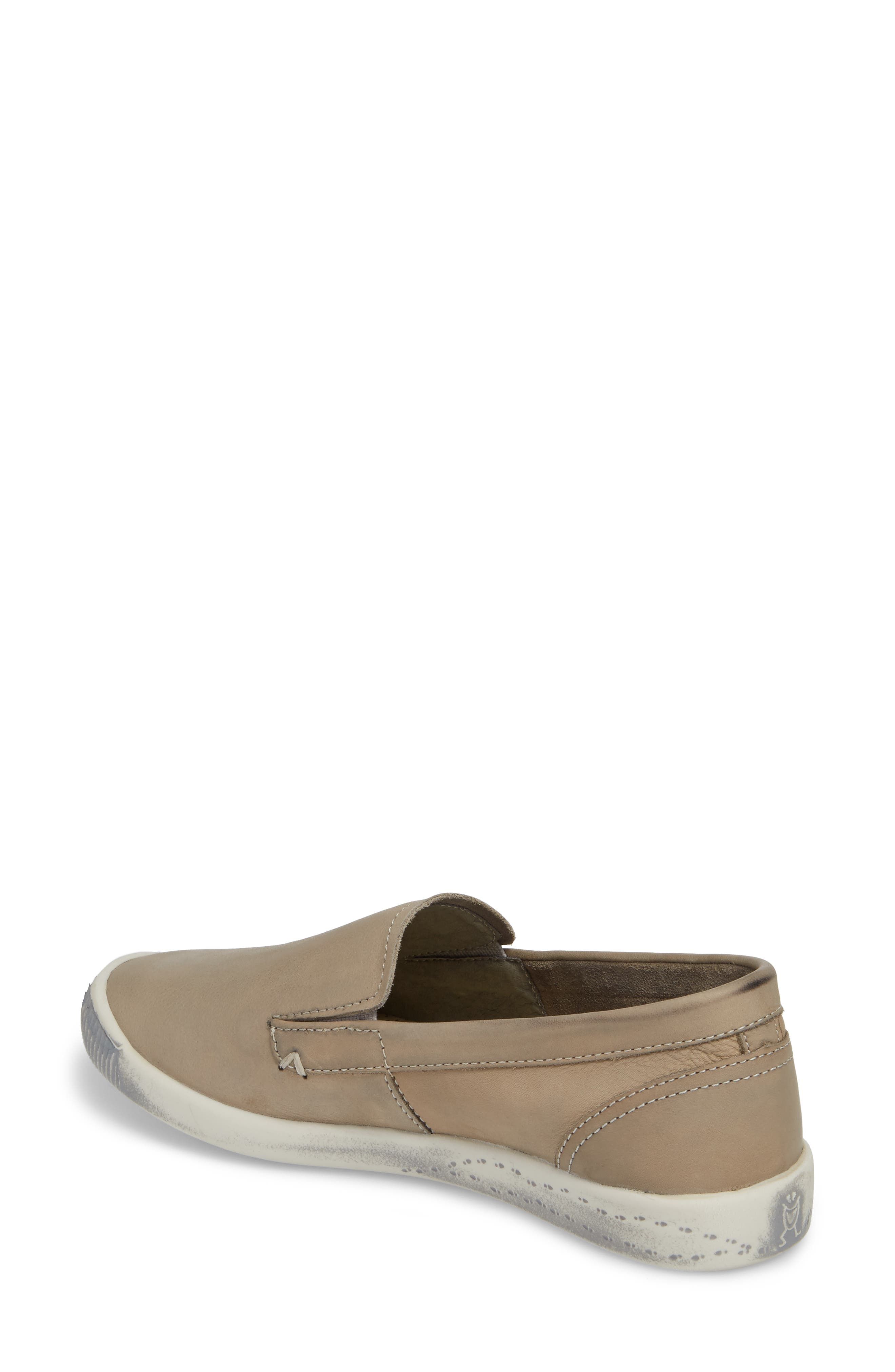 Ita Slip-On Sneaker,                             Alternate thumbnail 2, color,                             Taupe/ Taupe Leather