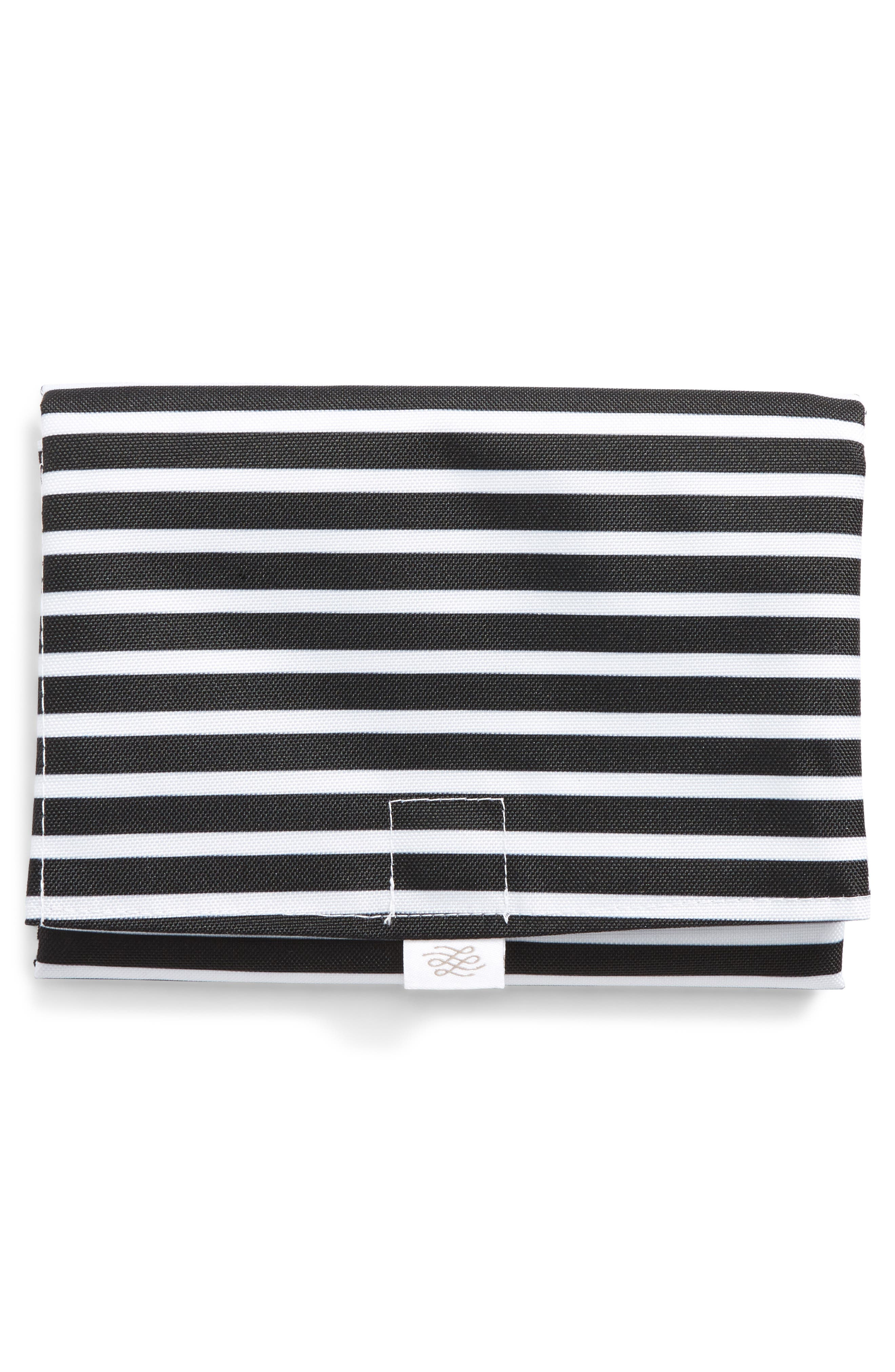 Waterproof Changing Pad,                             Alternate thumbnail 3, color,                             Audrey Stripe