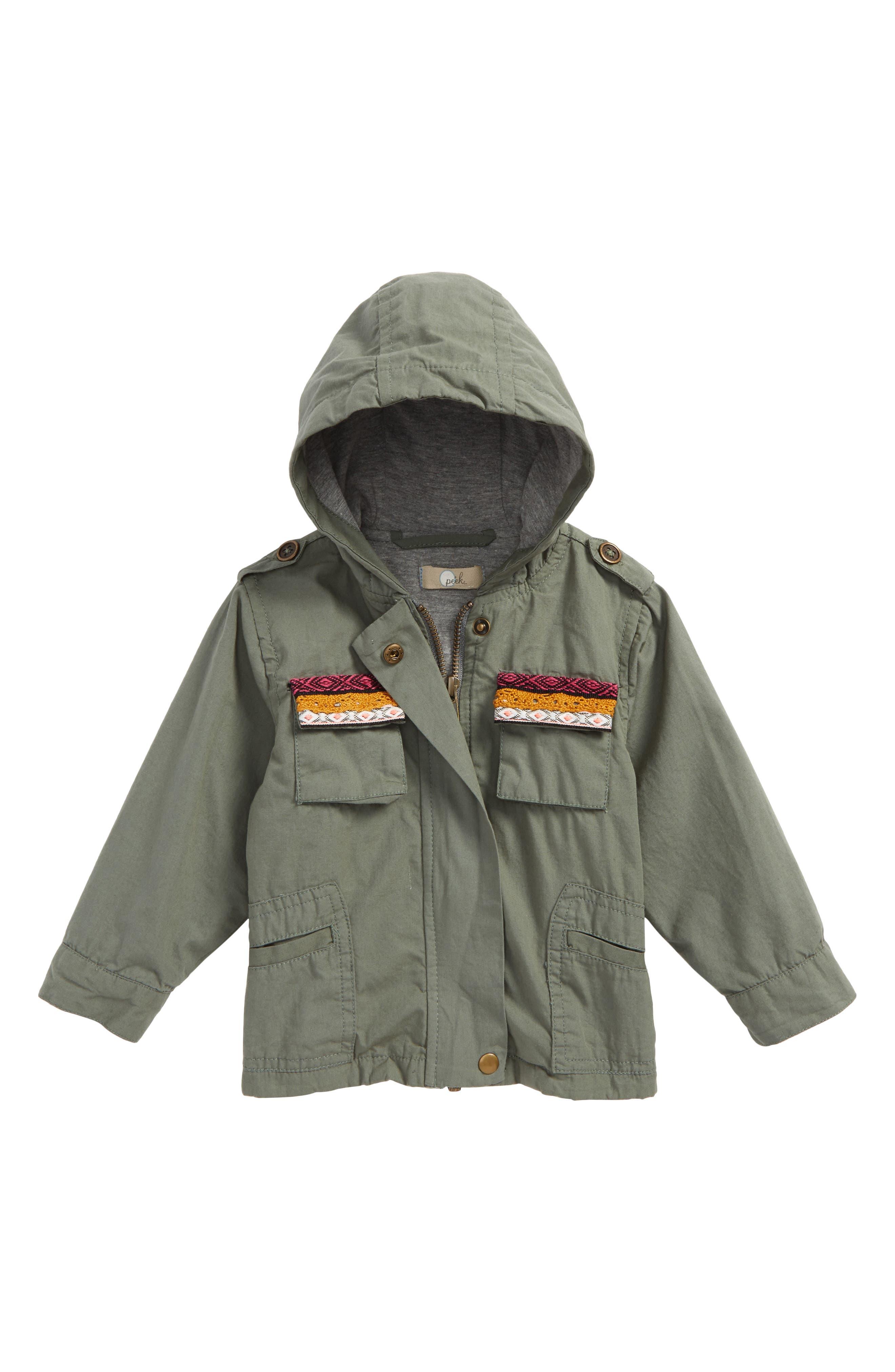 Peek Roadtrip Jacket (Baby Girls)