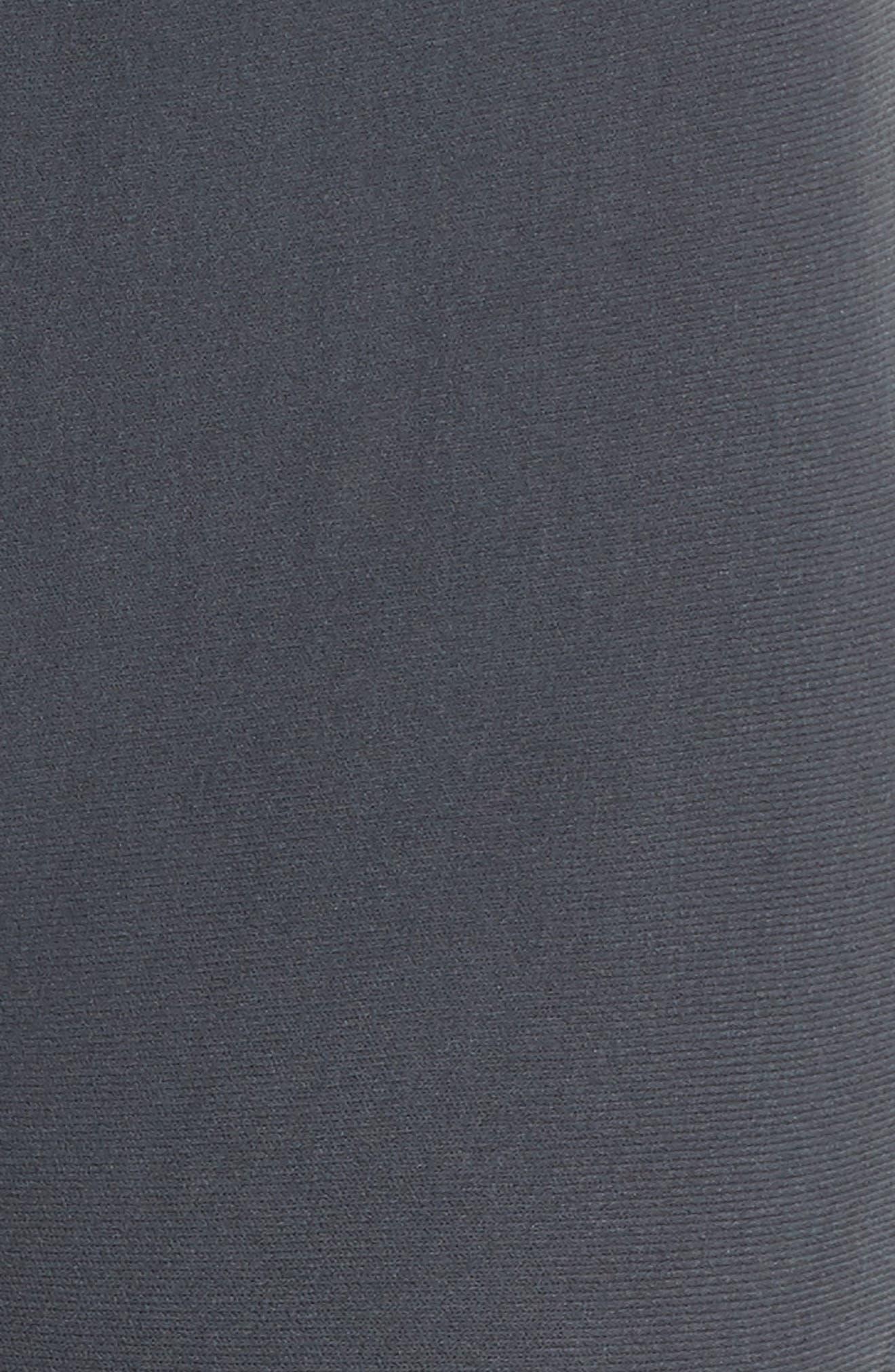 Warp Climacool<sup>®</sup> Knit Tights,                             Alternate thumbnail 5, color,                             Carbon/ Black