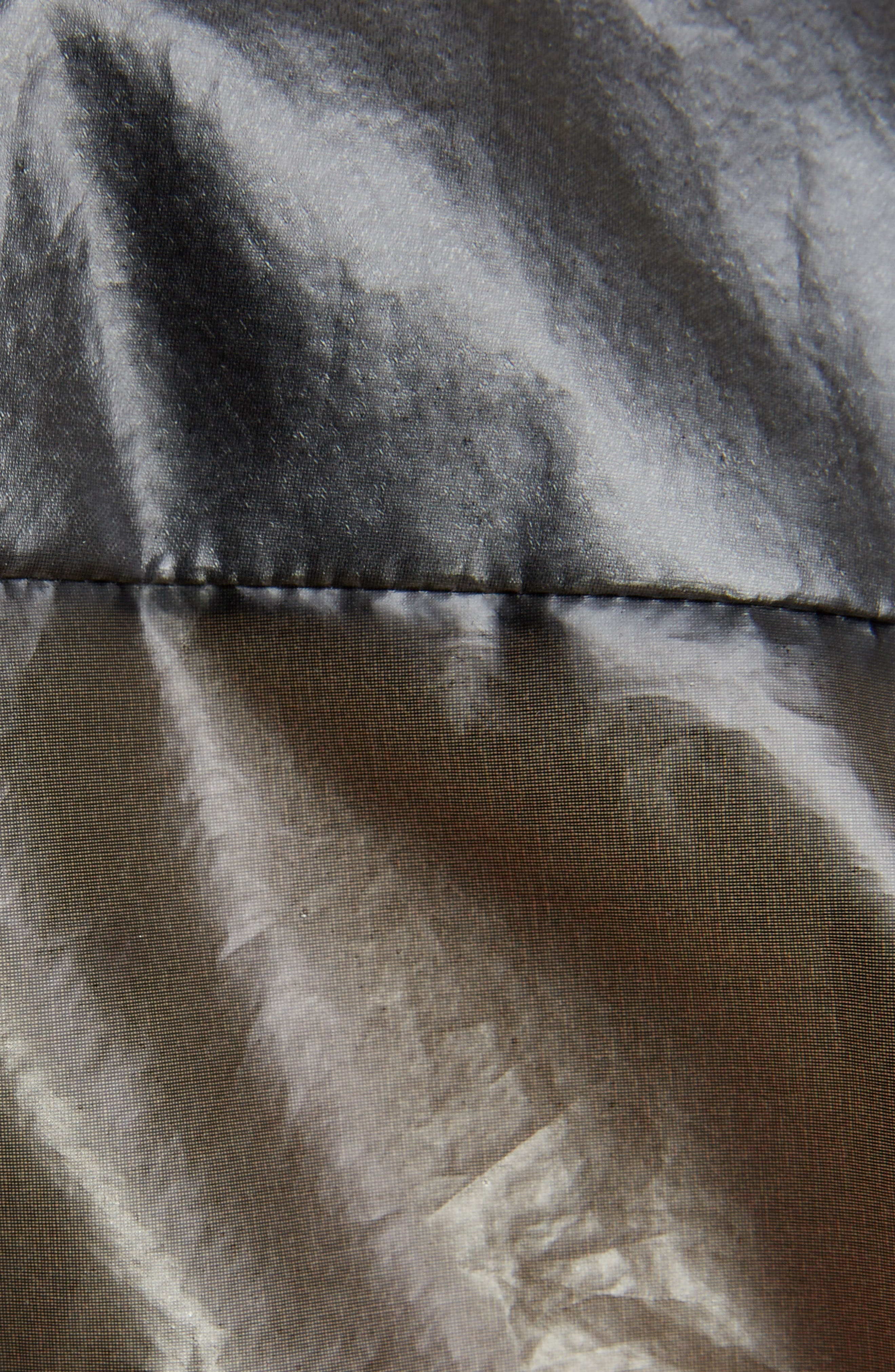 Transparent Blouse,                             Alternate thumbnail 5, color,                             Black