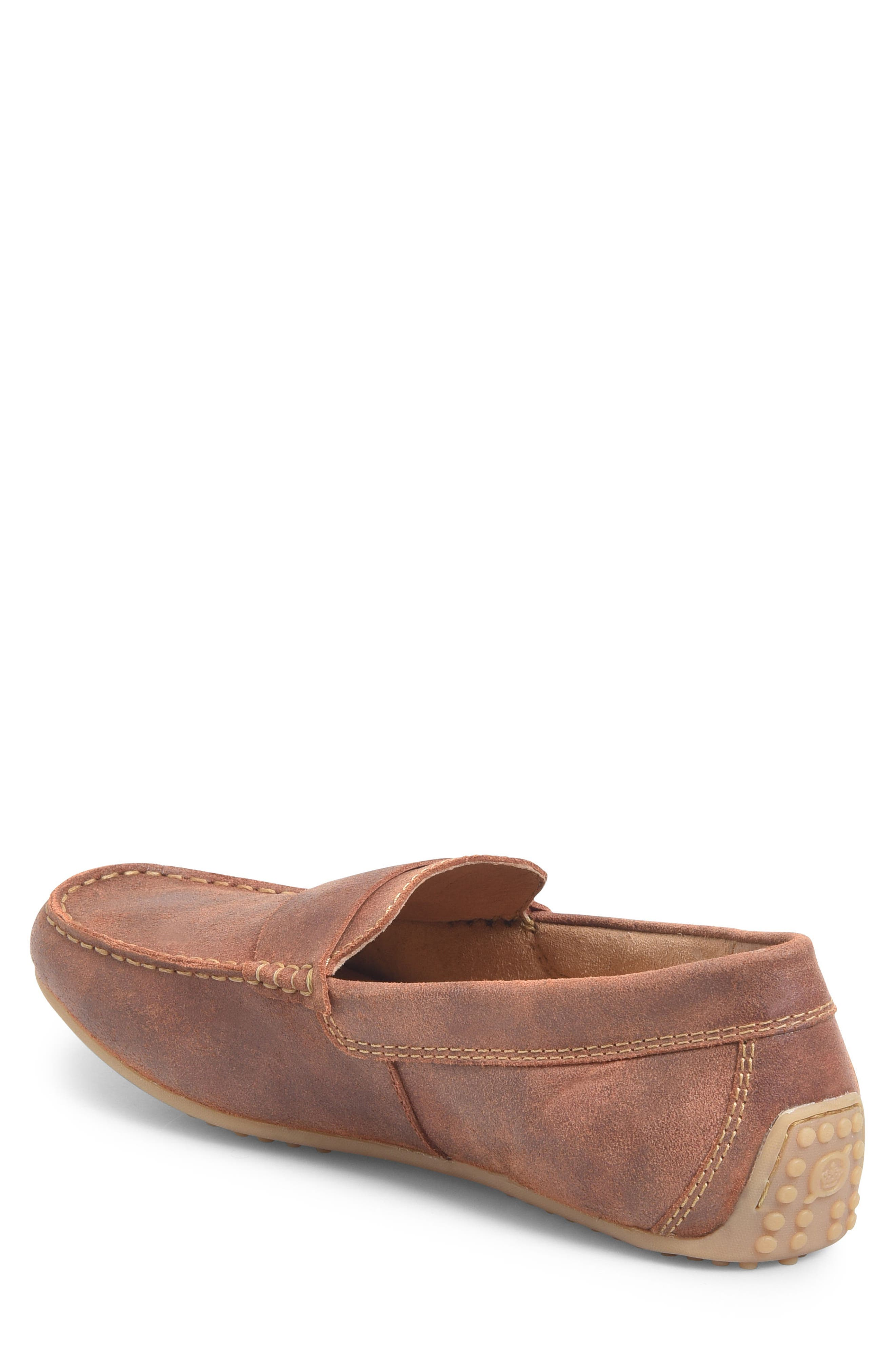Ratner Driving Loafer,                             Alternate thumbnail 2, color,                             Rust Leather