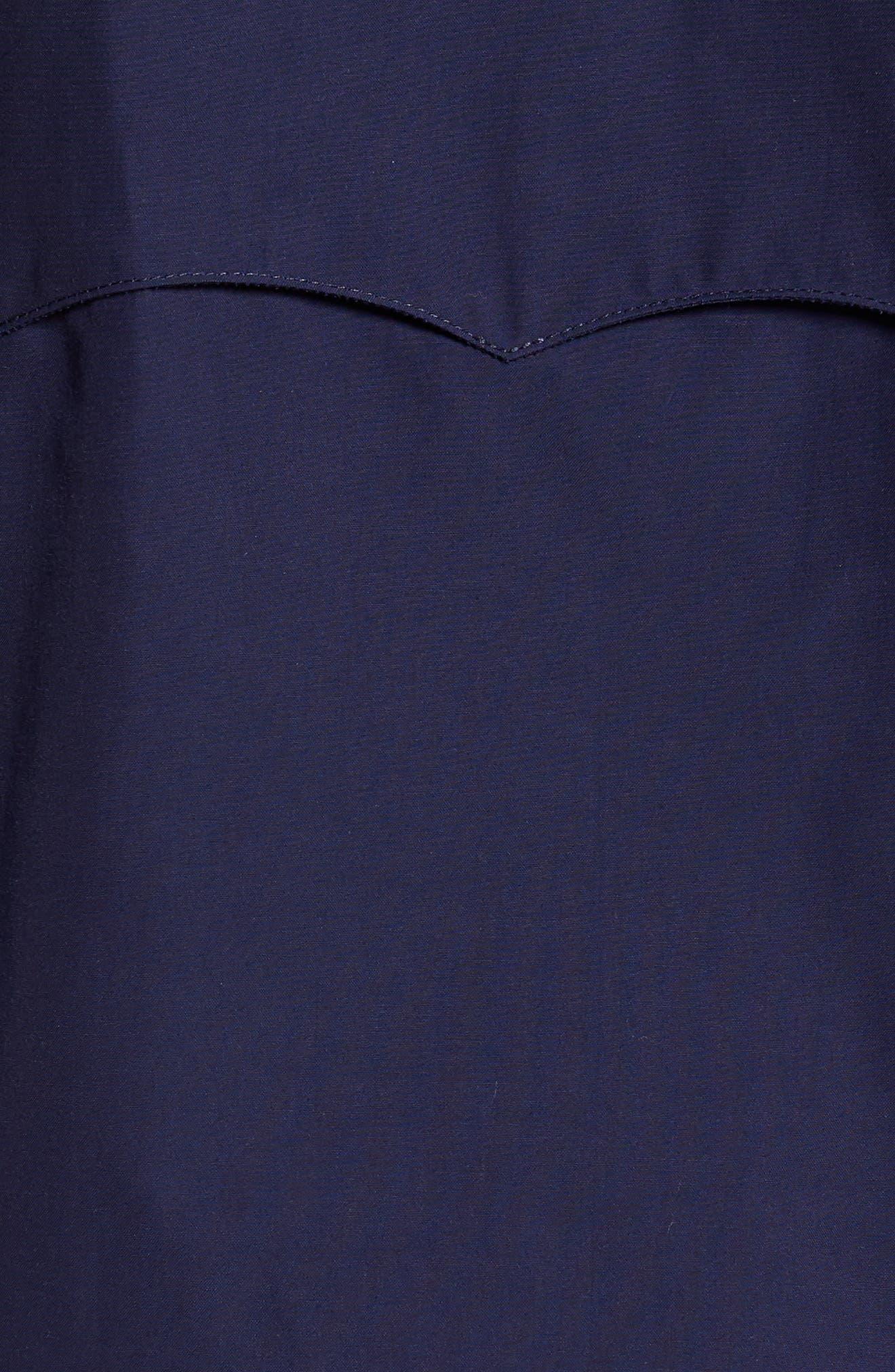 G9 Water Repellent Harrington Jacket,                             Alternate thumbnail 6, color,                             Indigo