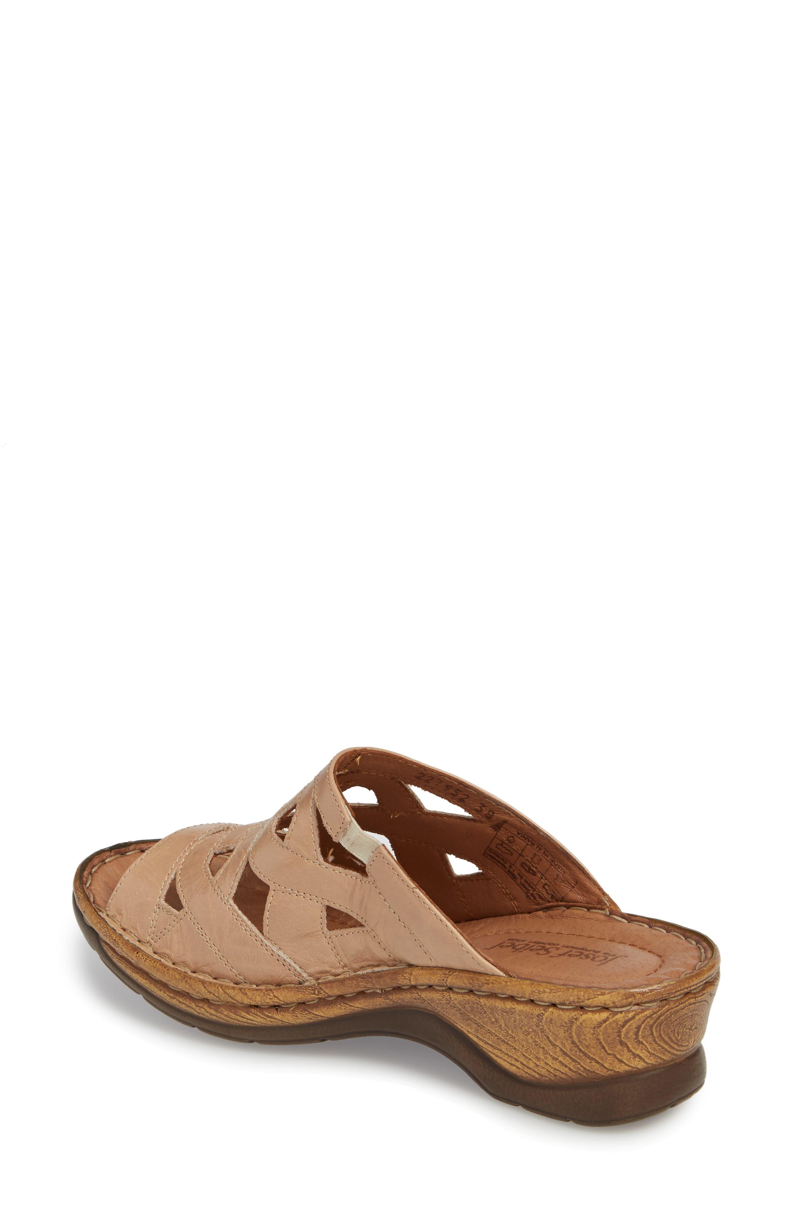 Catalonia 44 Slide Sandal,                             Alternate thumbnail 2, color,                             Beige Leather