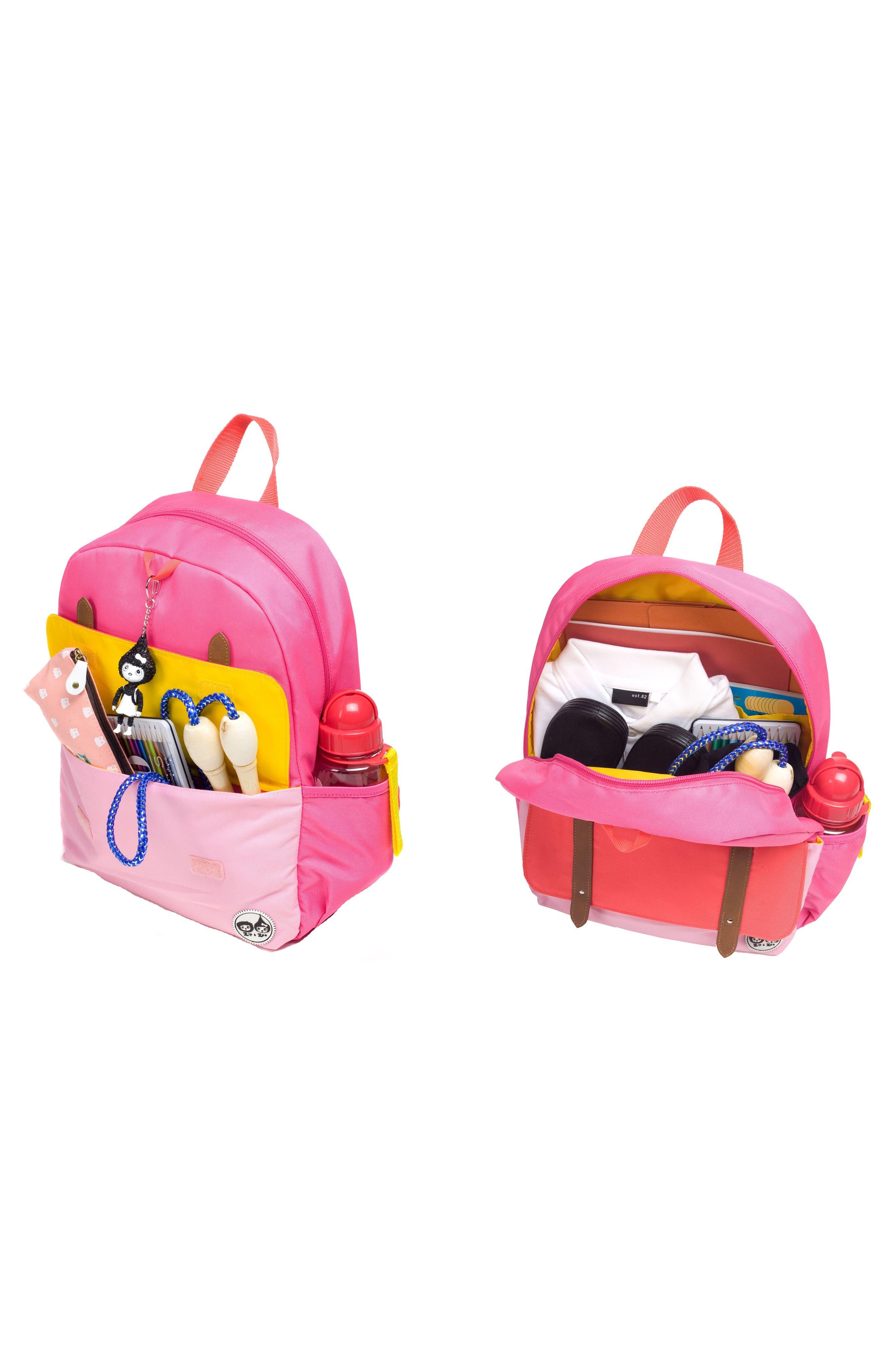 Alternate Image 7  - Babymel Zip & Zoe Colorblock Junior Backpack (Kids)