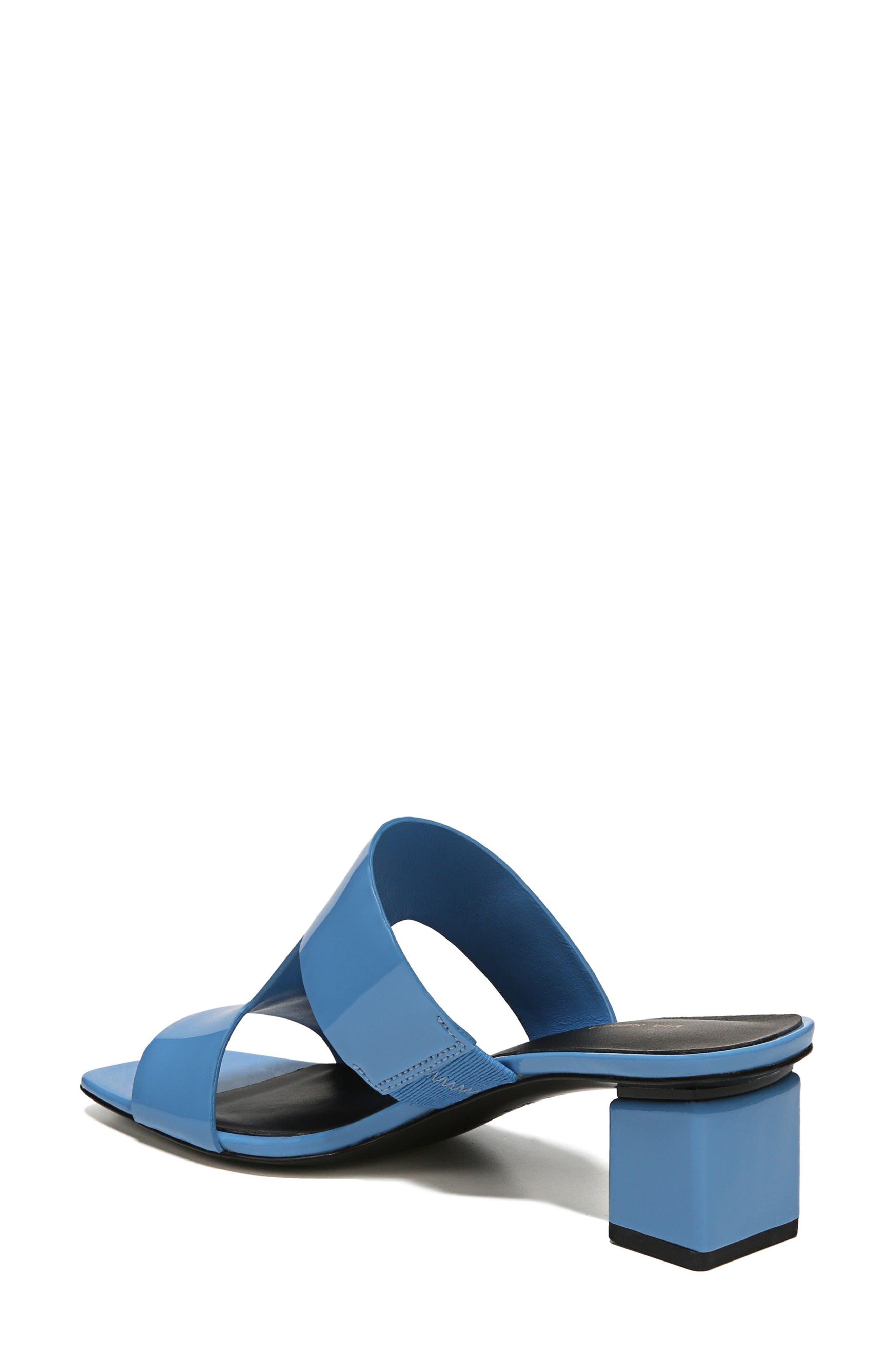 Florence Sandal,                             Alternate thumbnail 2, color,                             Sky Patent Leather