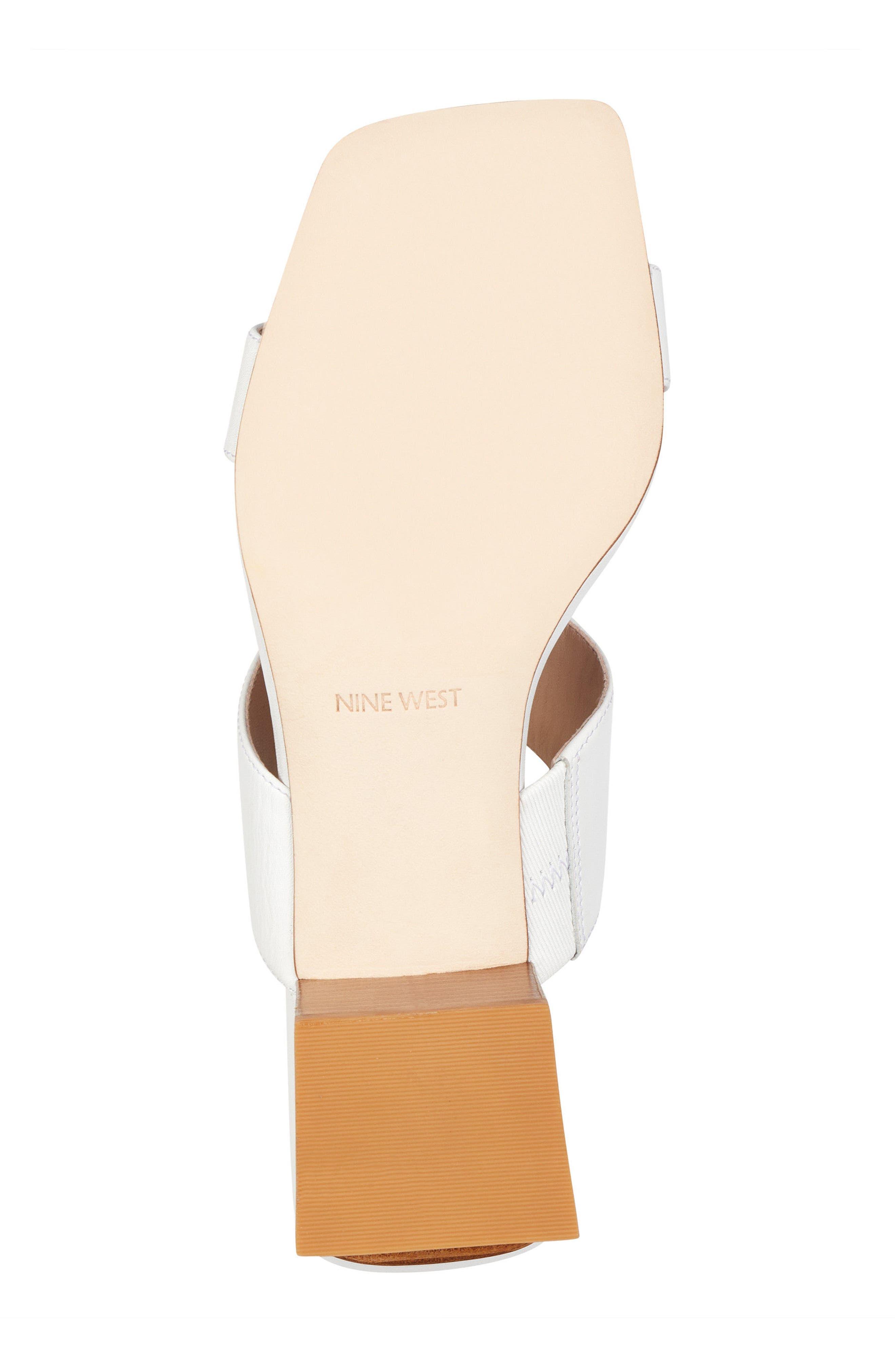 Churen - 40th Anniversary Capsule Collection Sandal,                             Alternate thumbnail 6, color,                             White Leather