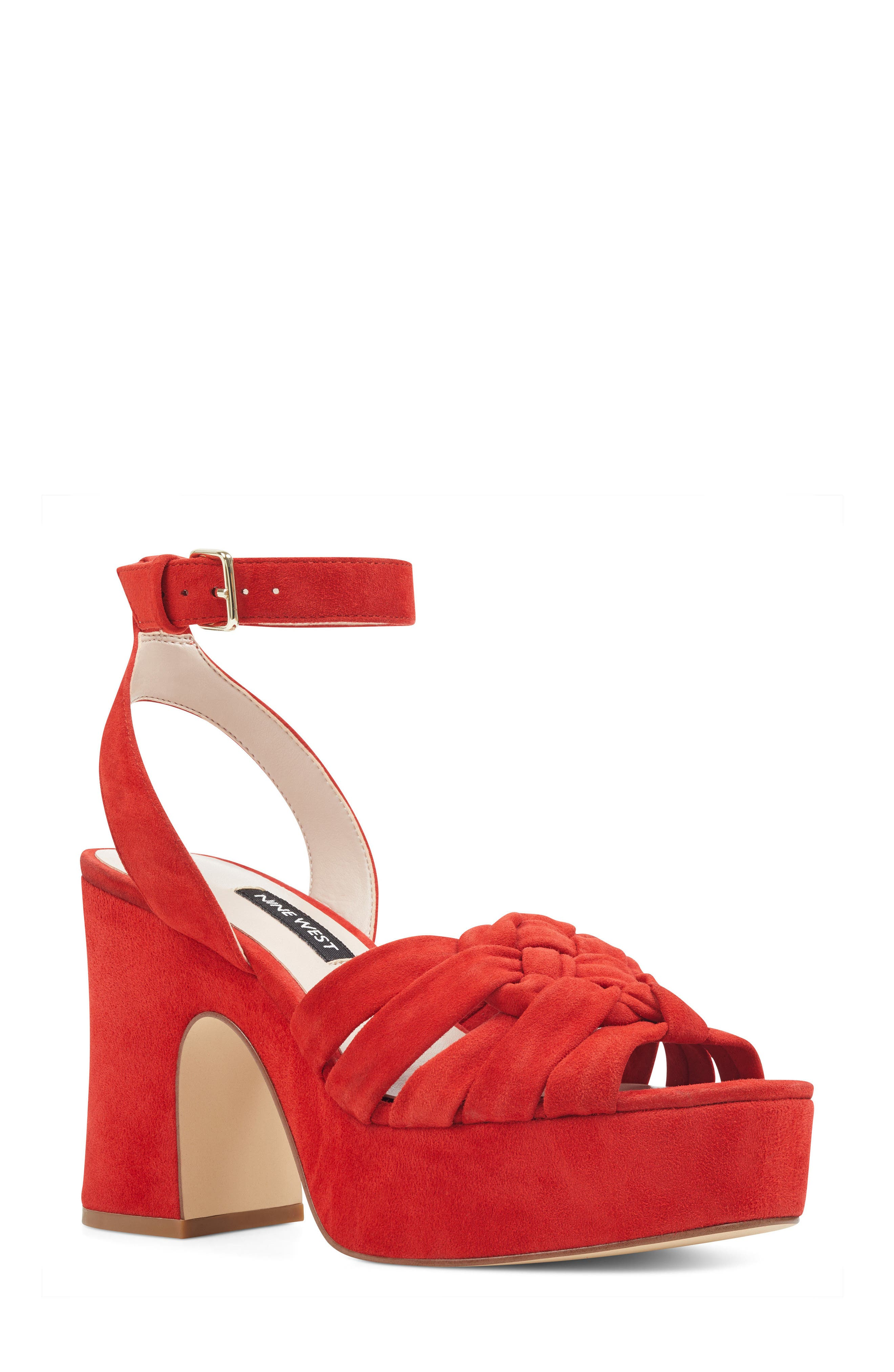 Nine West Fetuchini Platform Sandal (Women)