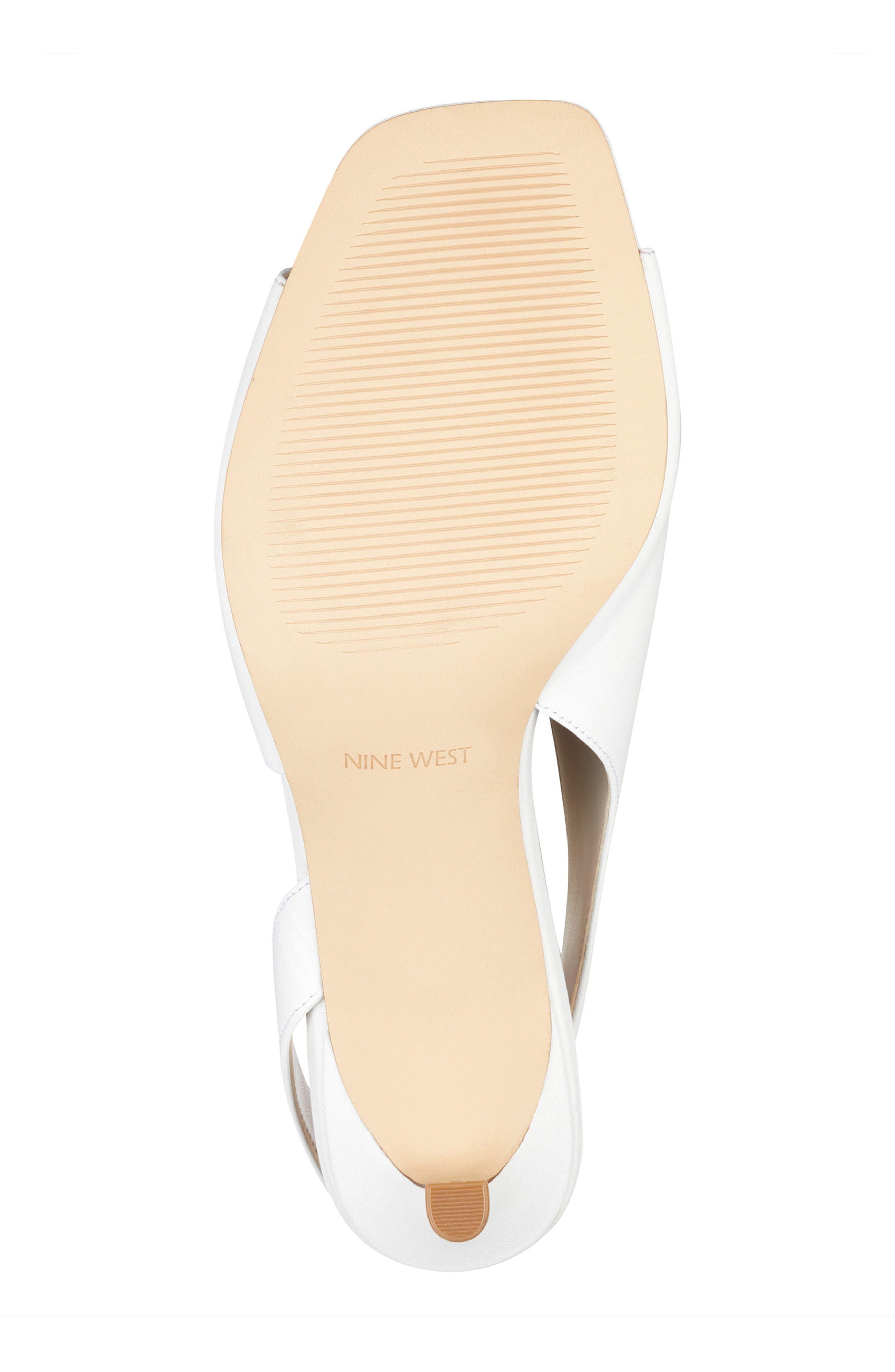 Orrus Asymmetrical Sandal,                             Alternate thumbnail 6, color,                             White Leather
