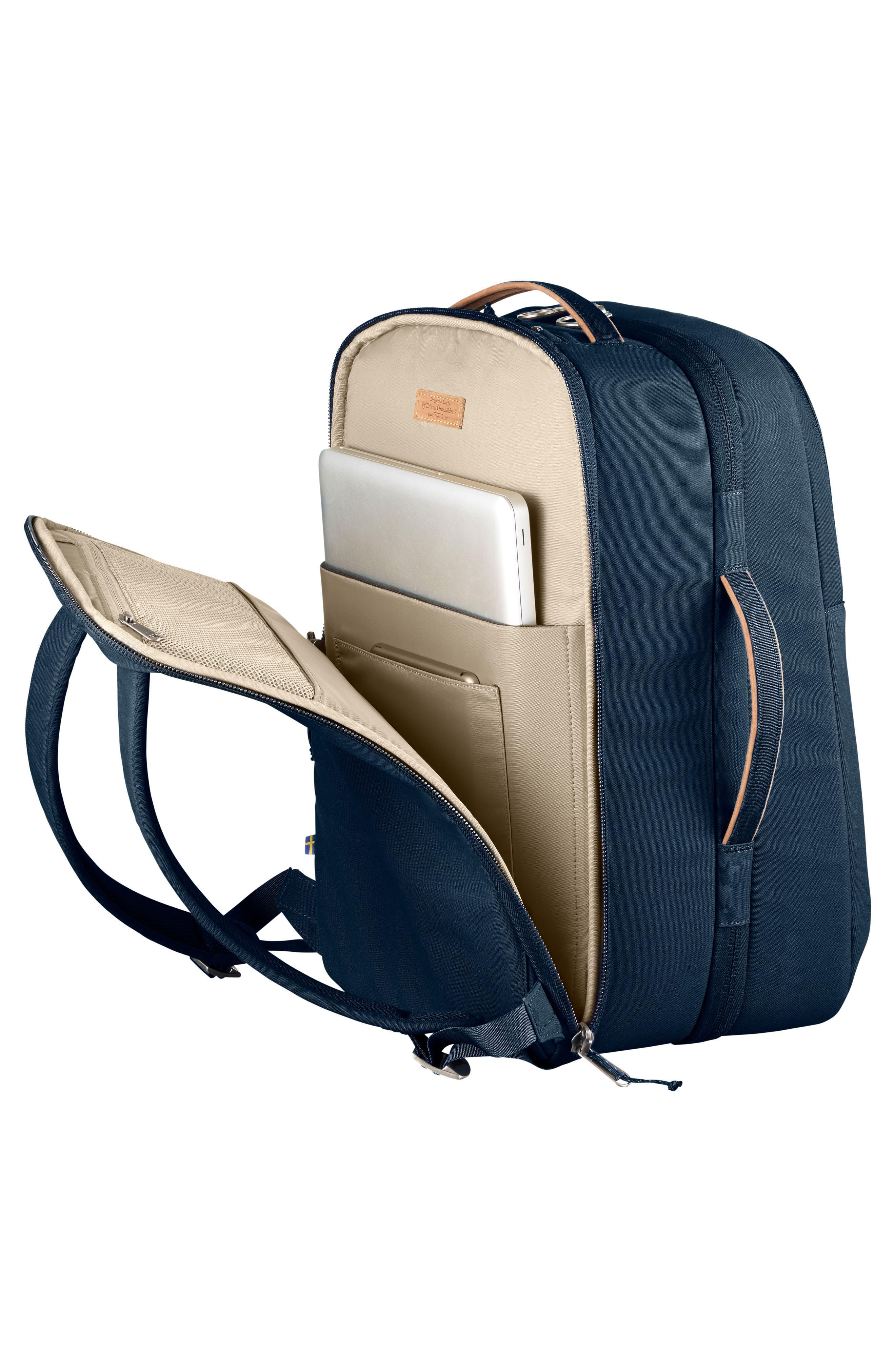 Travel Backpack,                             Alternate thumbnail 5, color,                             Navy