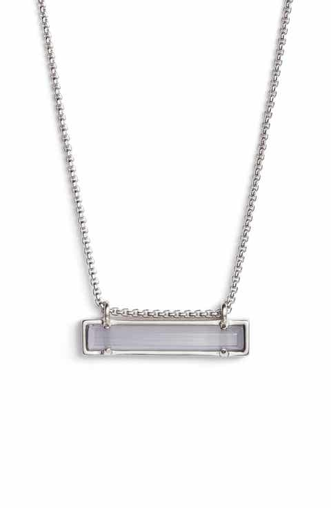 Womens grey necklaces nordstrom kendra scott leanor pendant necklace aloadofball Gallery
