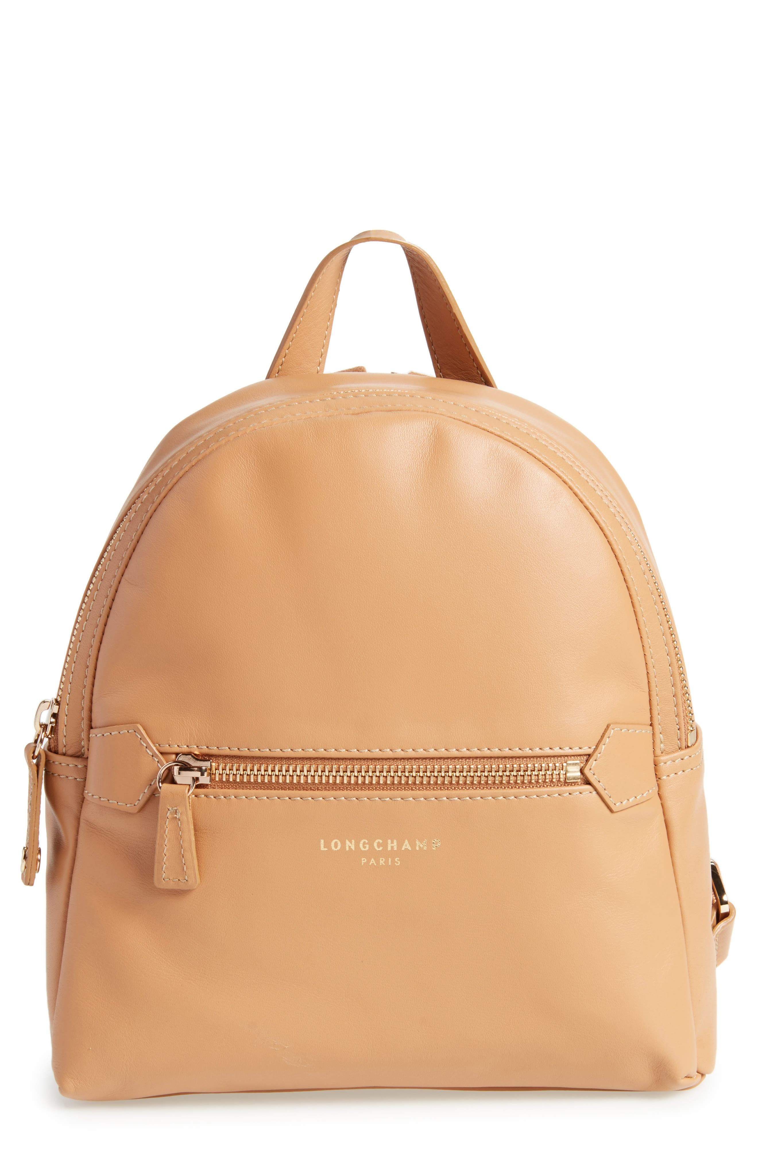 Longchamp 2.0 Small Leather Backpack