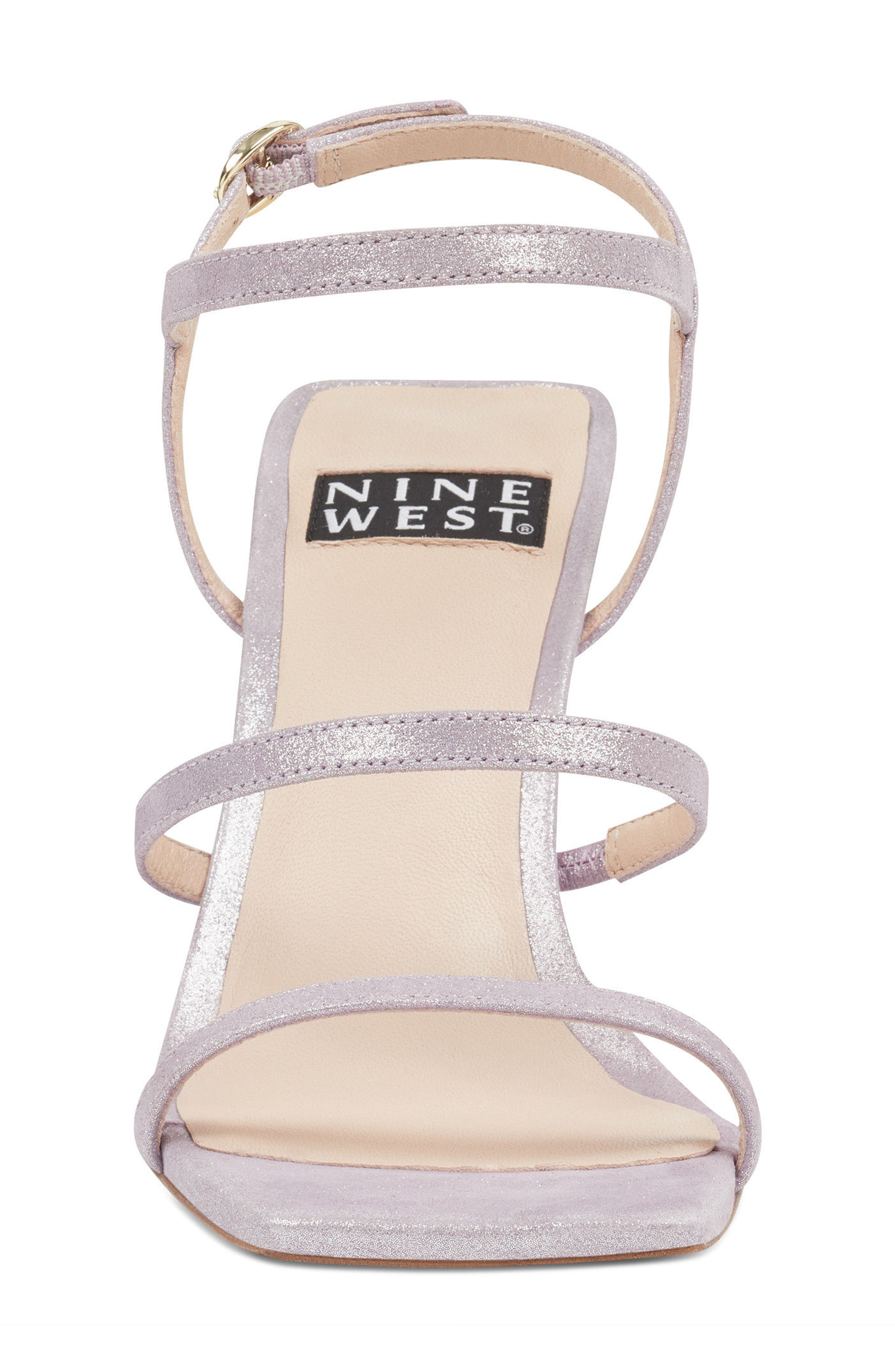 Gabelle - 40th Anniversary Capsule Collection Sandal,                             Alternate thumbnail 4, color,                             Light Purple Leather