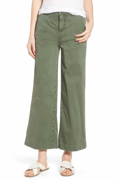 Caslon? Wide Leg Crop Pants